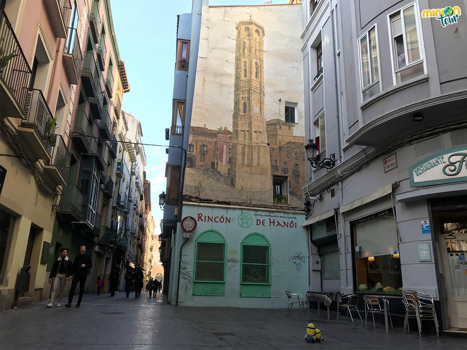 Pintura de la Torre Nueva