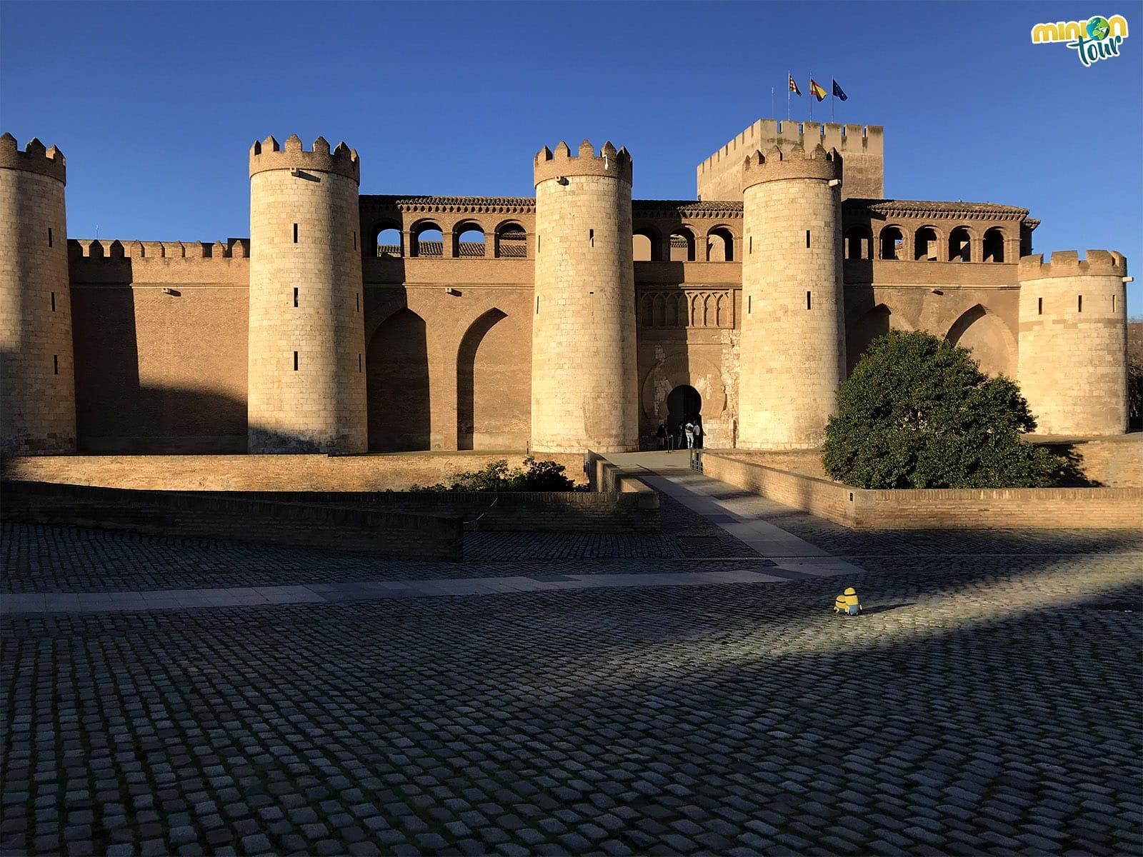 El impresionante Palacio de la Alfajería