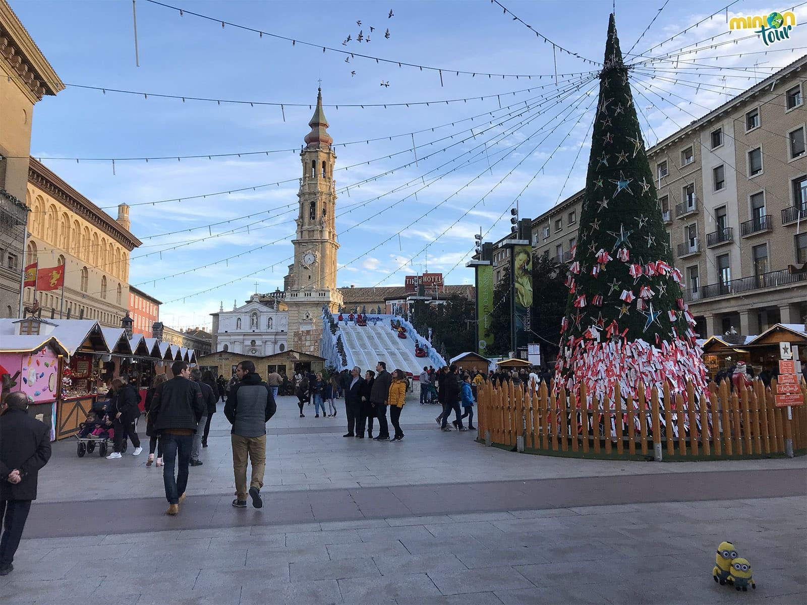 Plaza del Pilar en Zaragoza