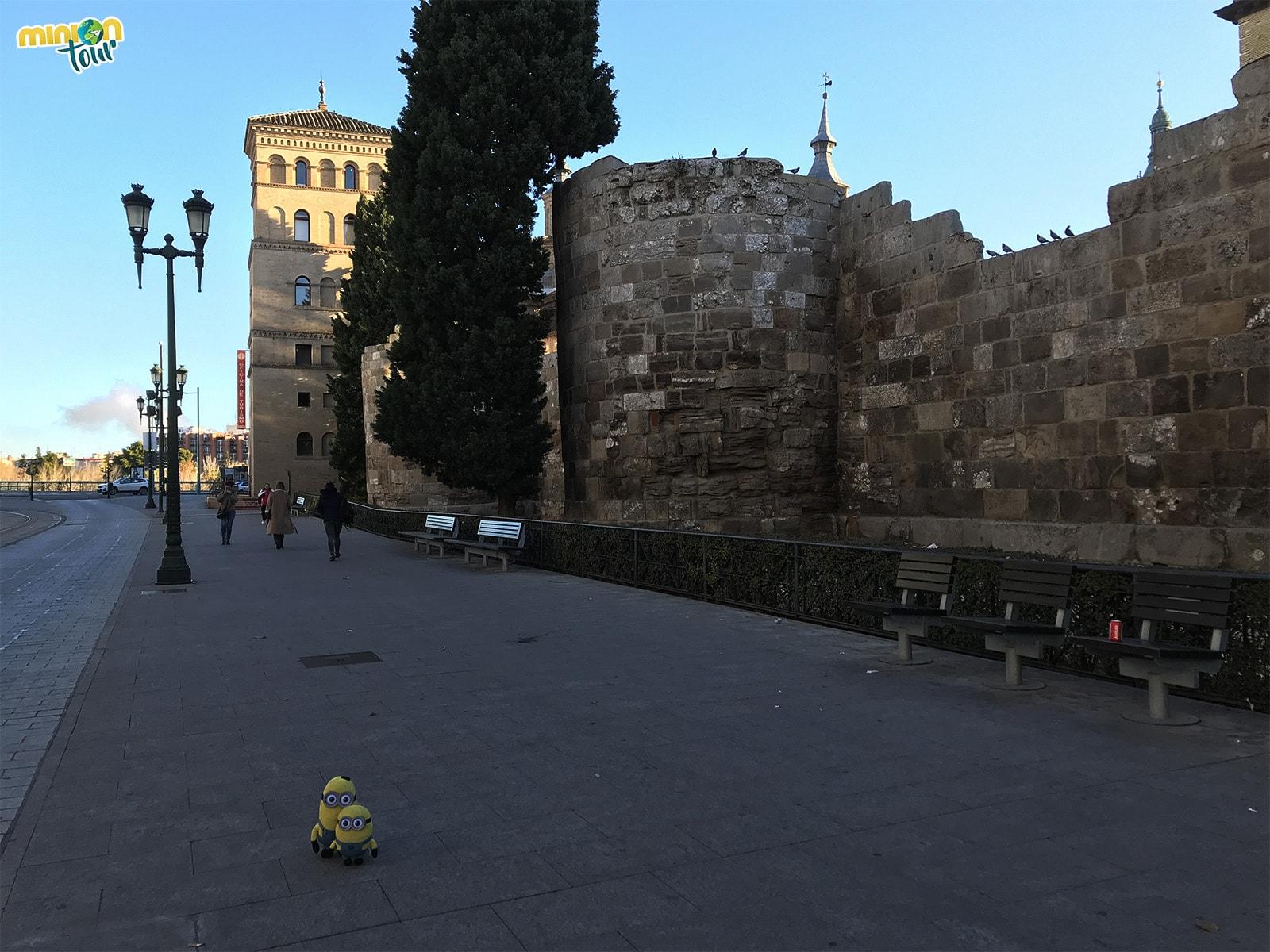 Torre de la Zuda en Zaragoza