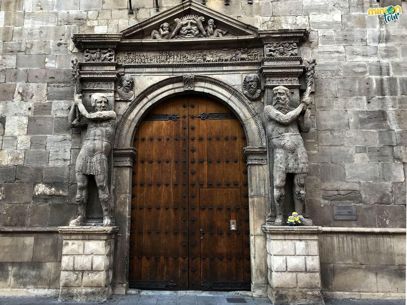 Entrada de la Casa Palacio de los condes de Morata