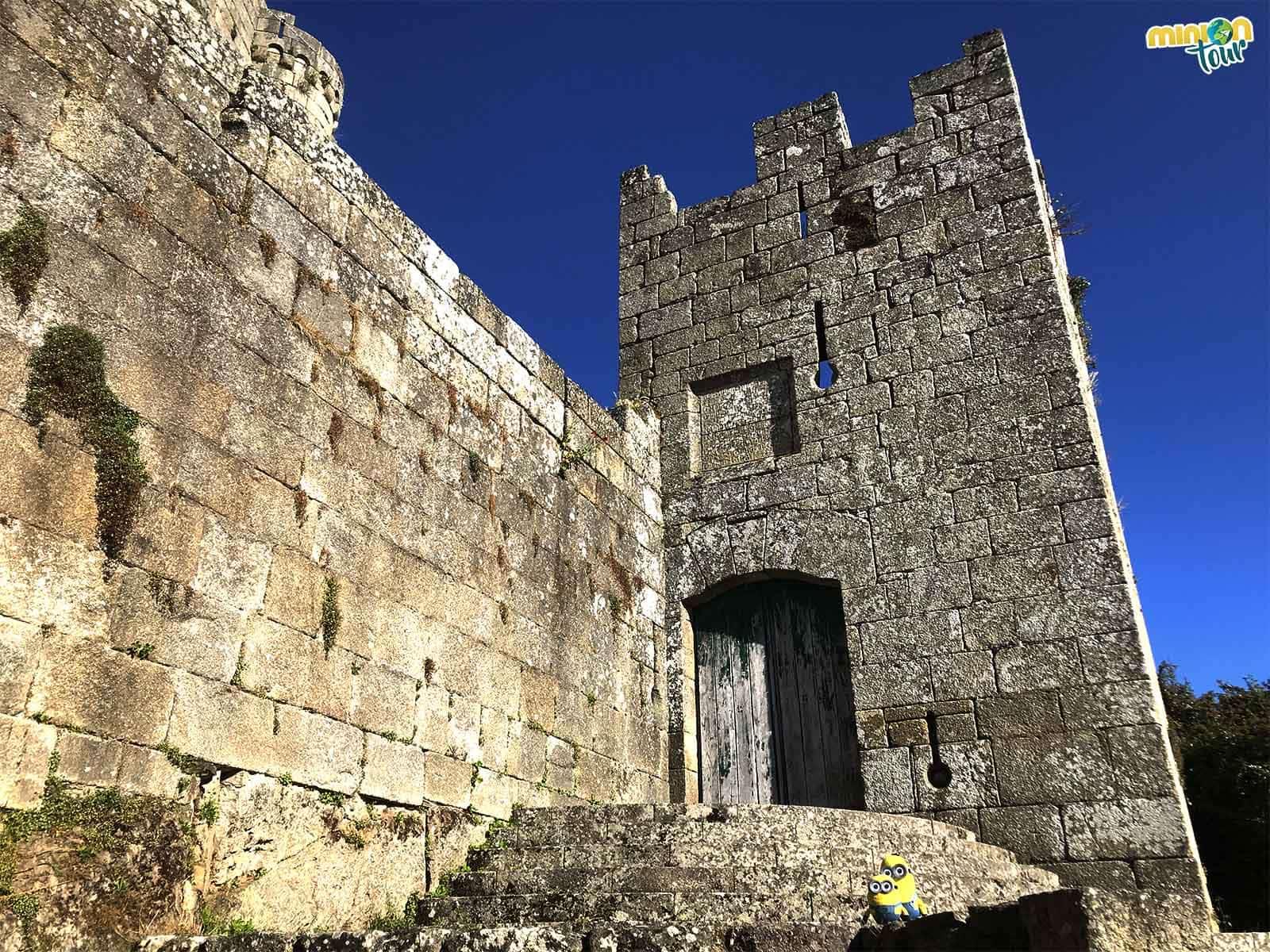 El castillo, una de las cosas que ver en Castro Caldelas