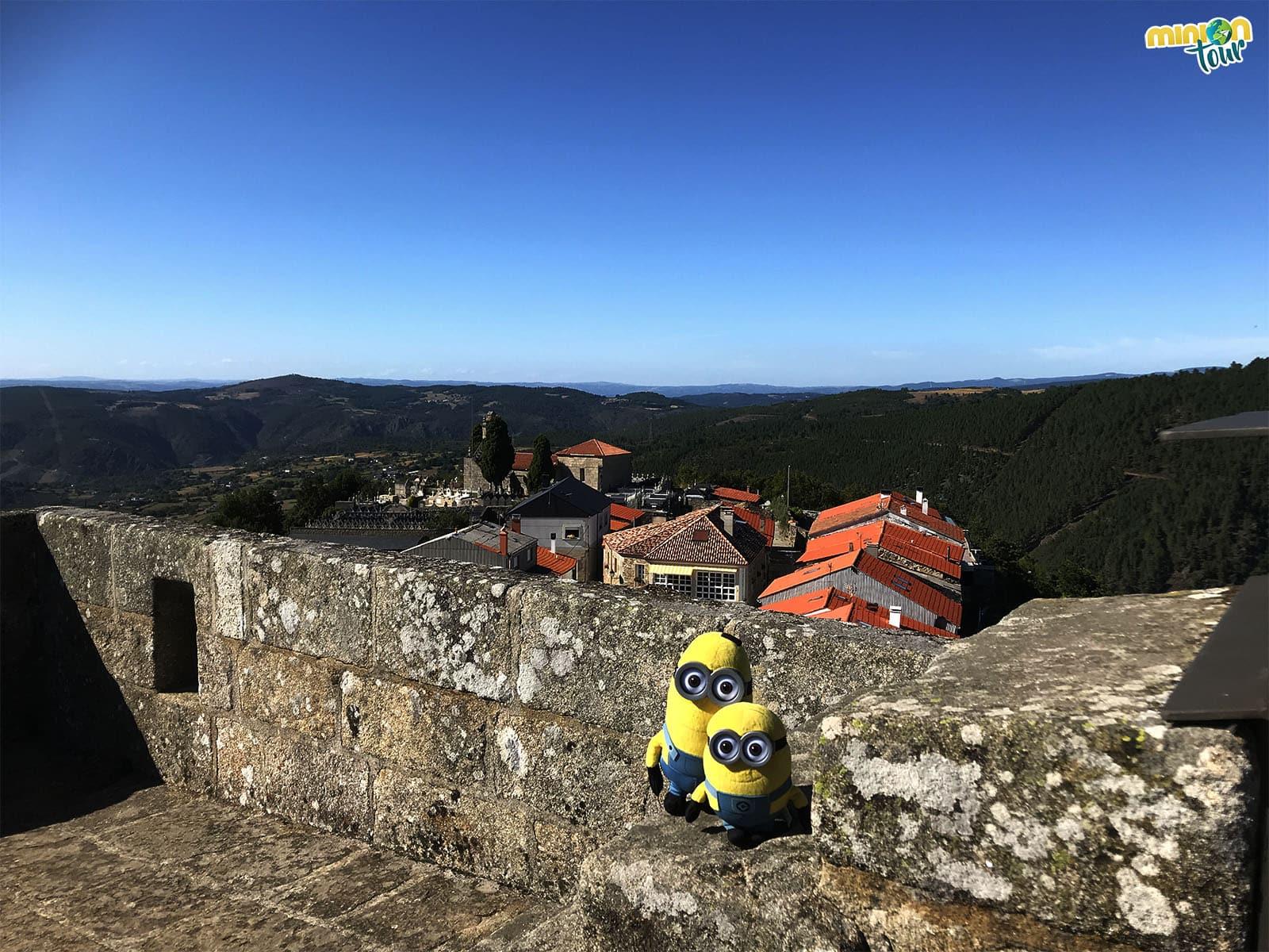 Castro Caldelas desde la torre