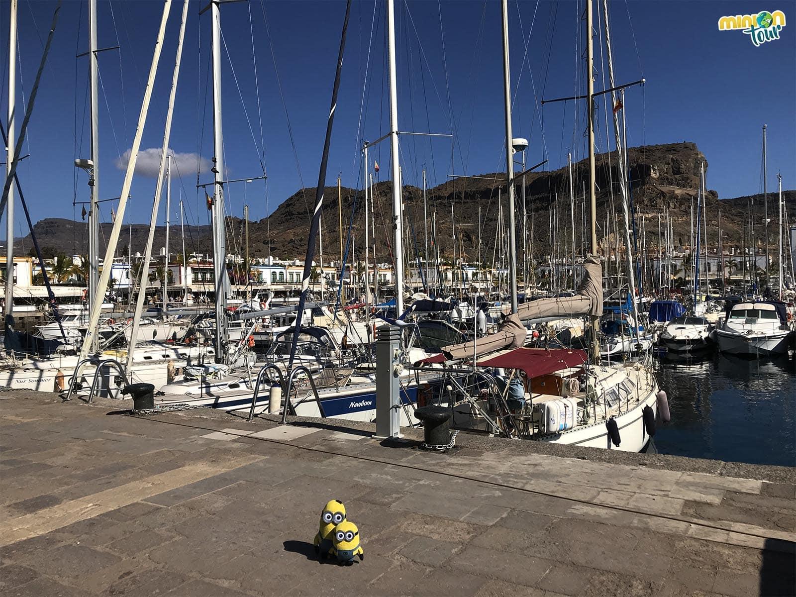 Barcos en Puerto de Mogán