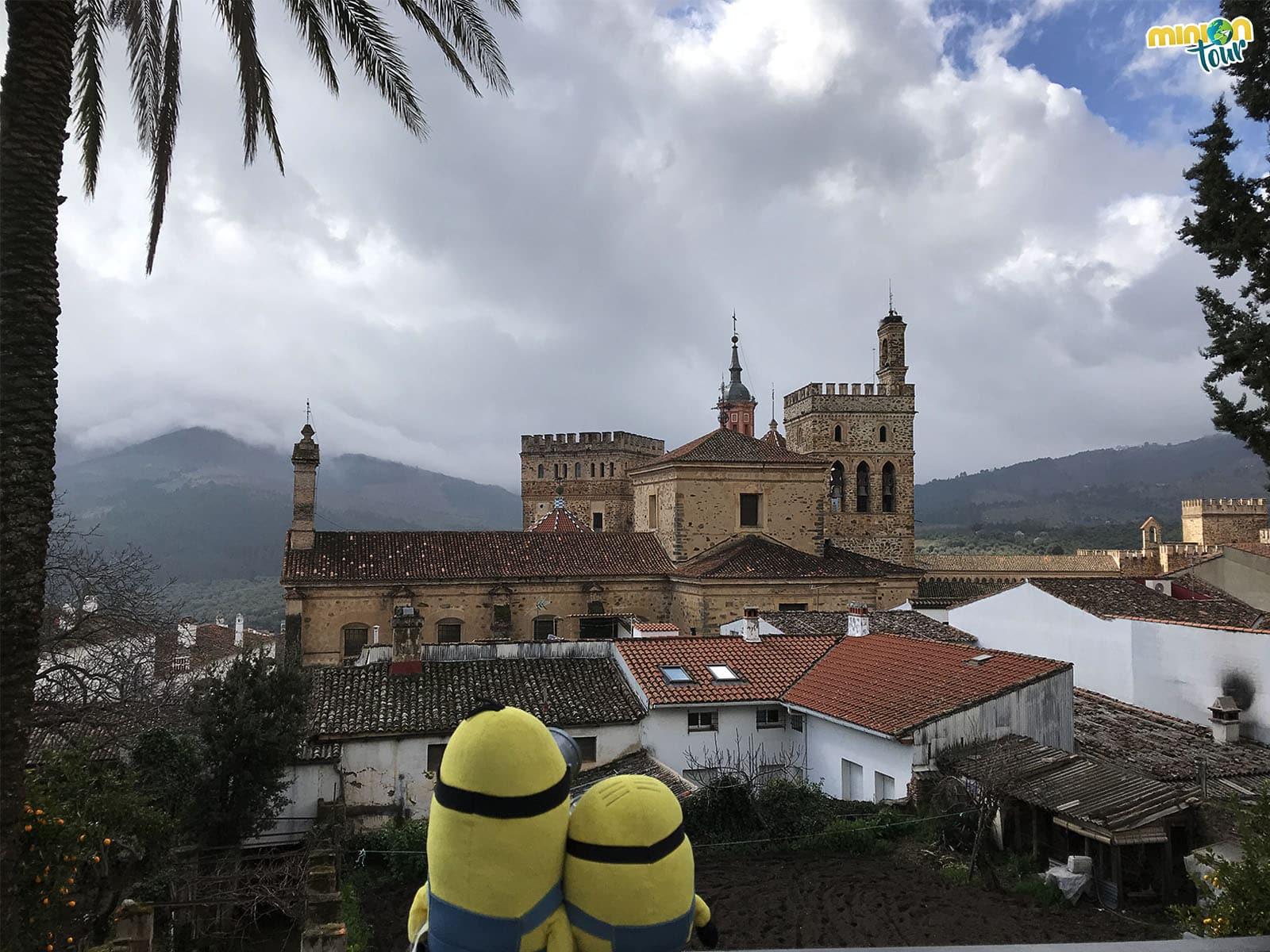 Vista del Monasterio de Guadalupe