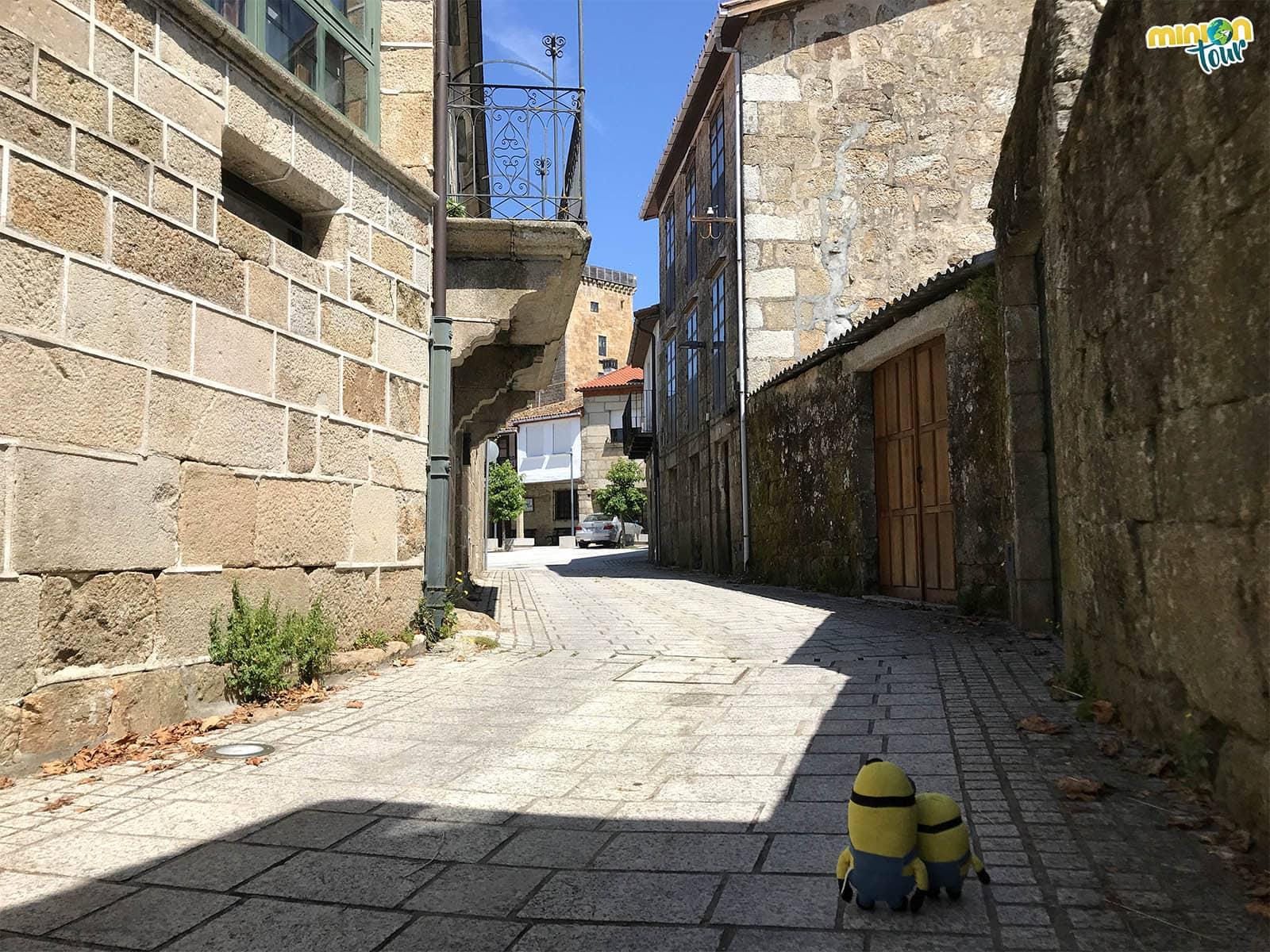 Nos perdemos por las calles medievales del burgo de Vilanova