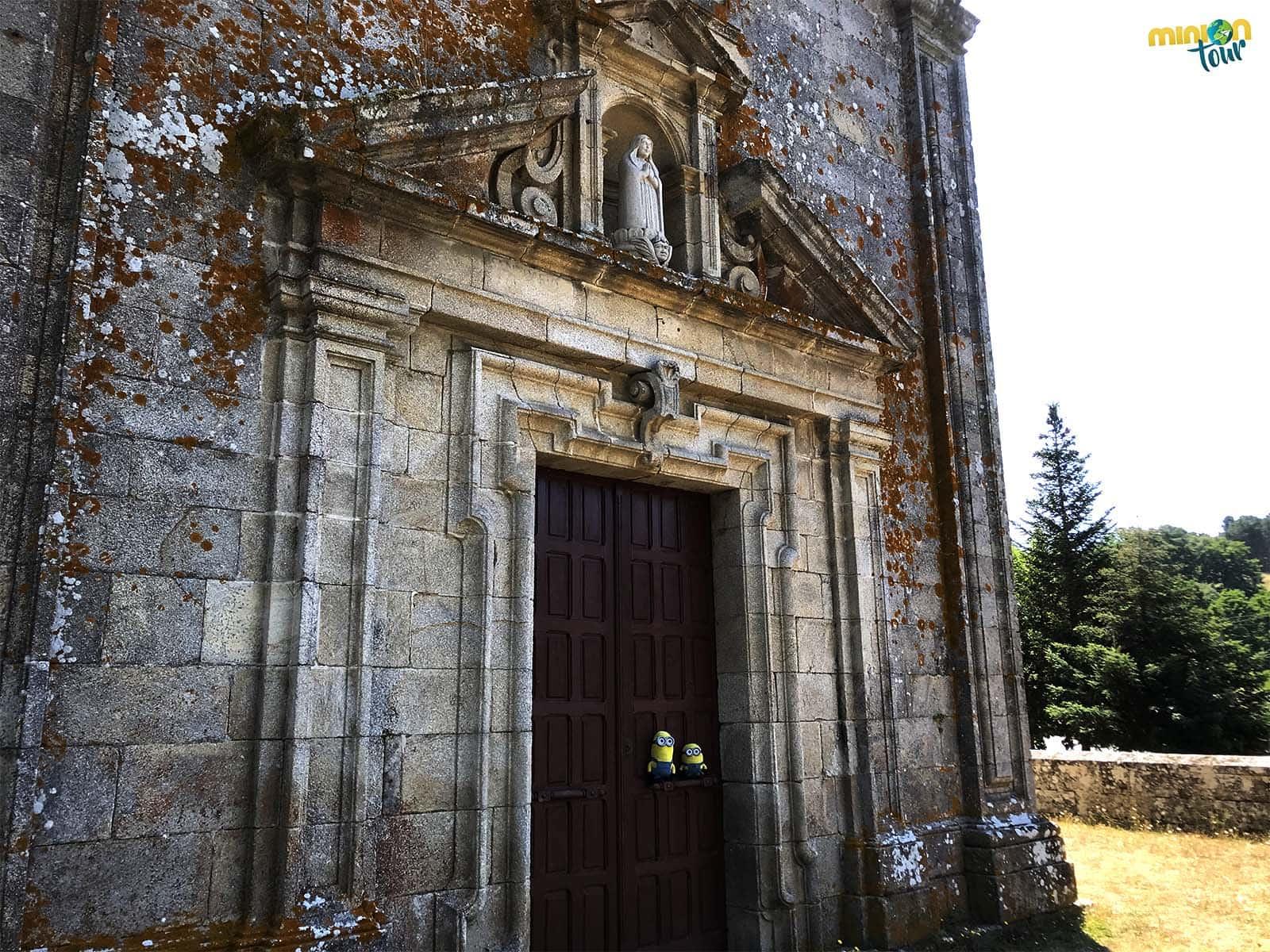 Este santuario es otra de las cosas que ver en Vilanova dos Infantes