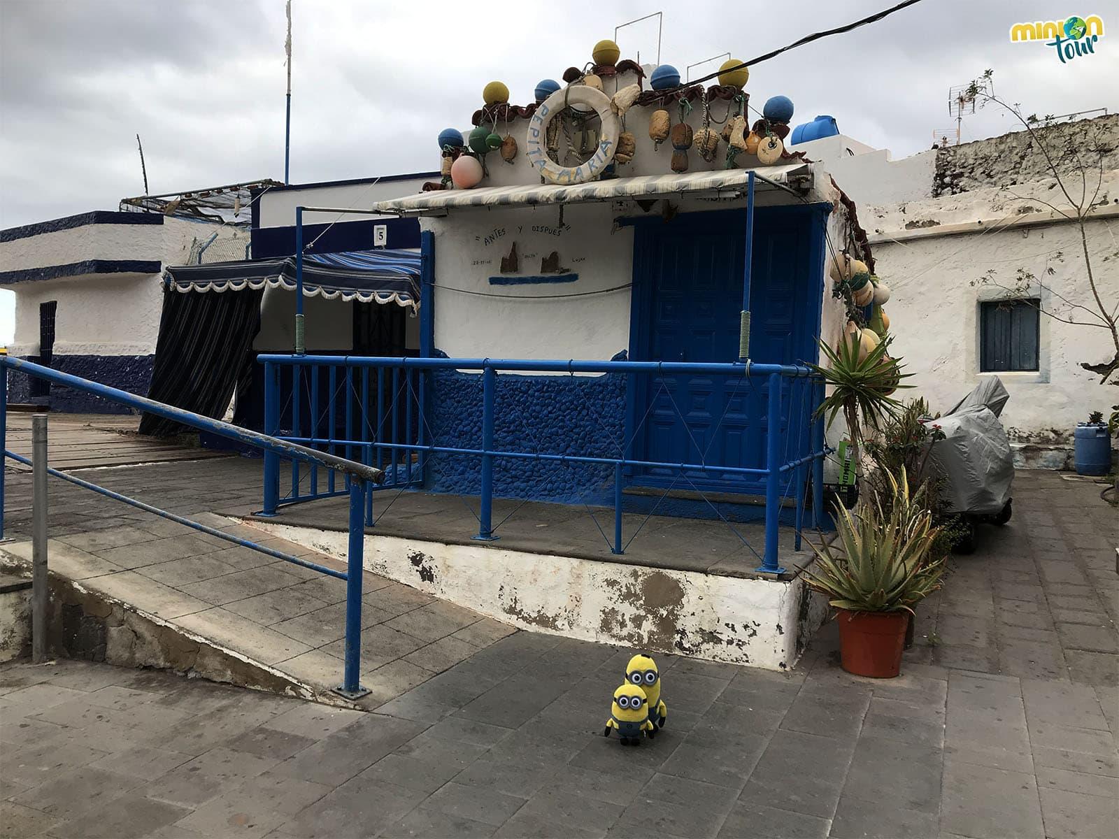 Fin de nuestra ruta por el norte de Gran Canaria en Puerto de las Nieves