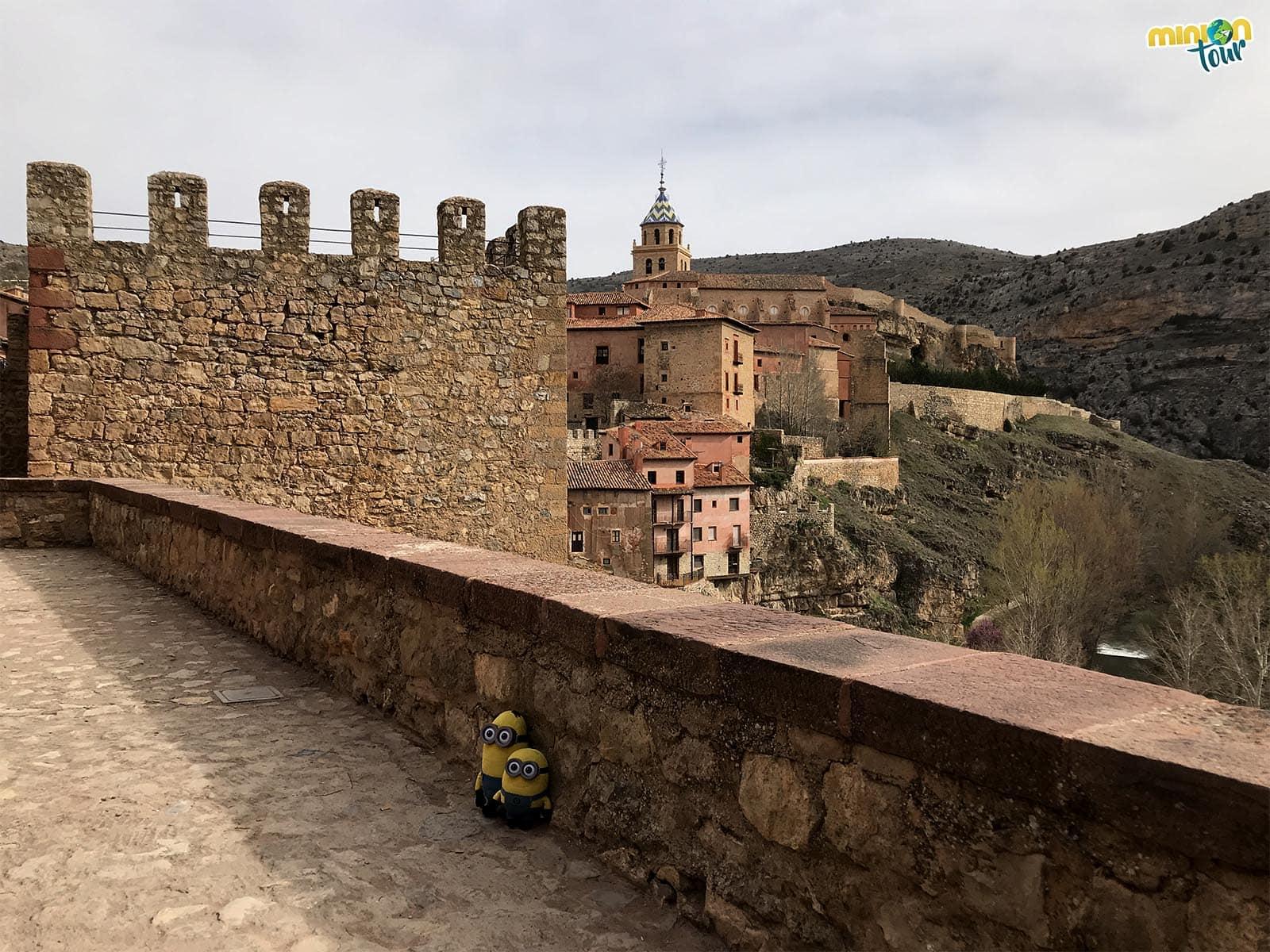 Torre de las murallas de Albarracín