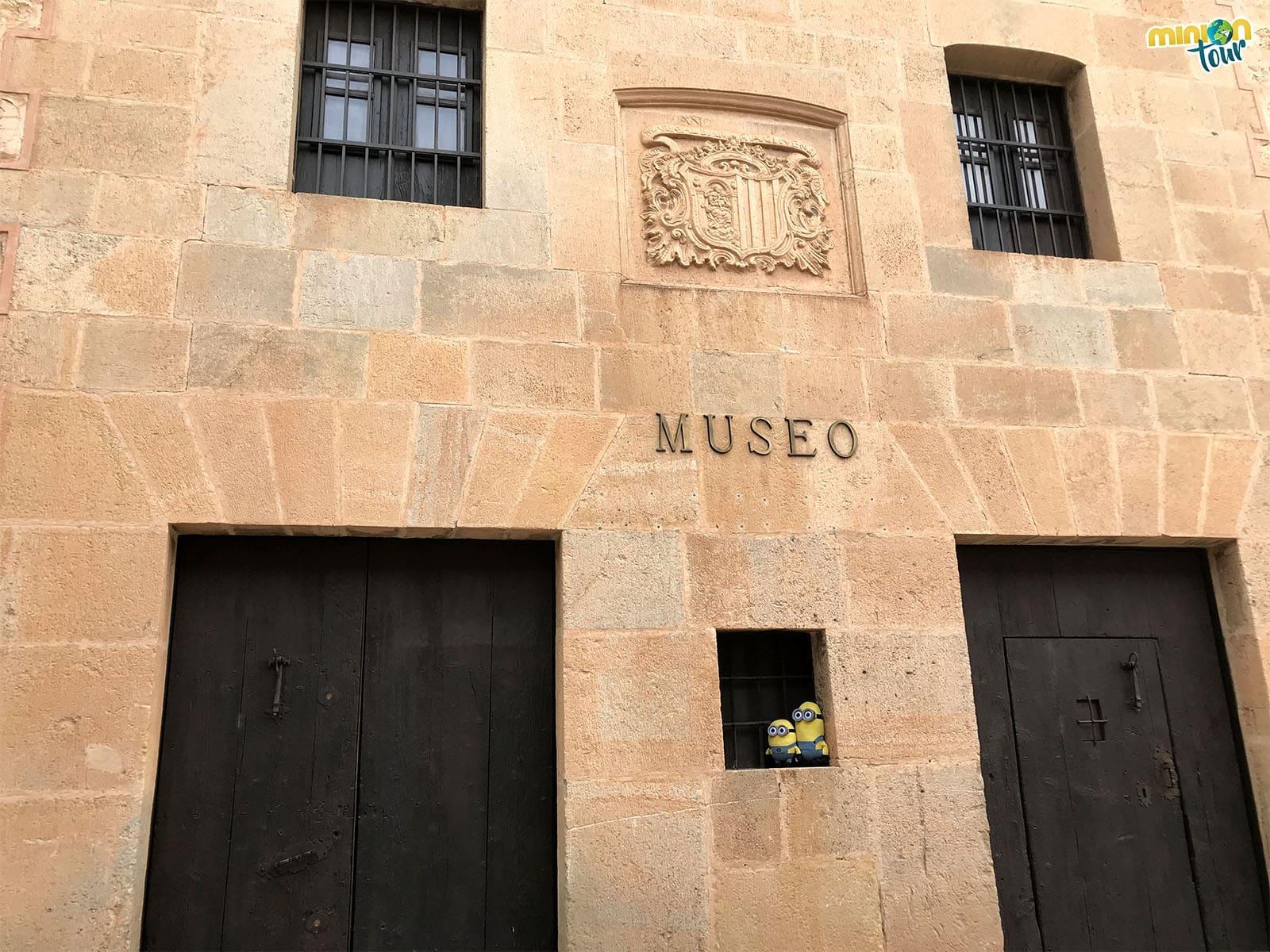 Entrada del Museo Municipal de Albarracín