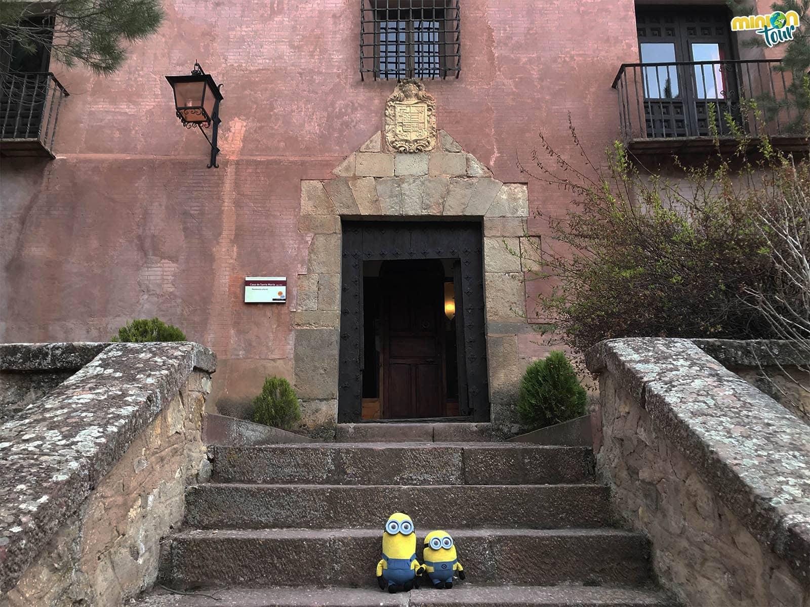 Casa de Santa María en Albarracín