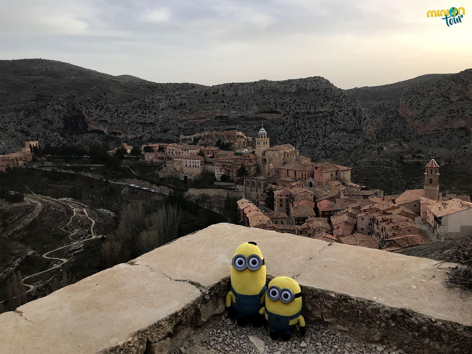 Albarracín visto desde arriba