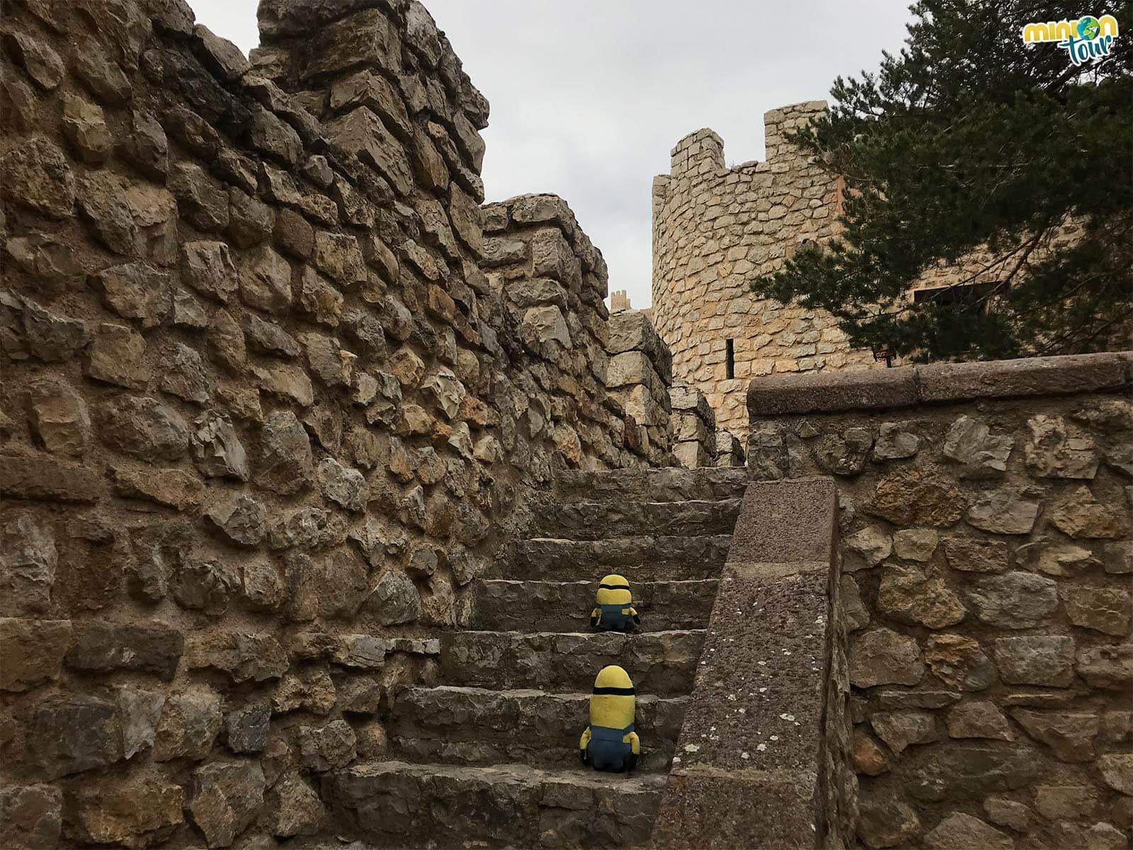 Escaleras de las murallas de Albarracín