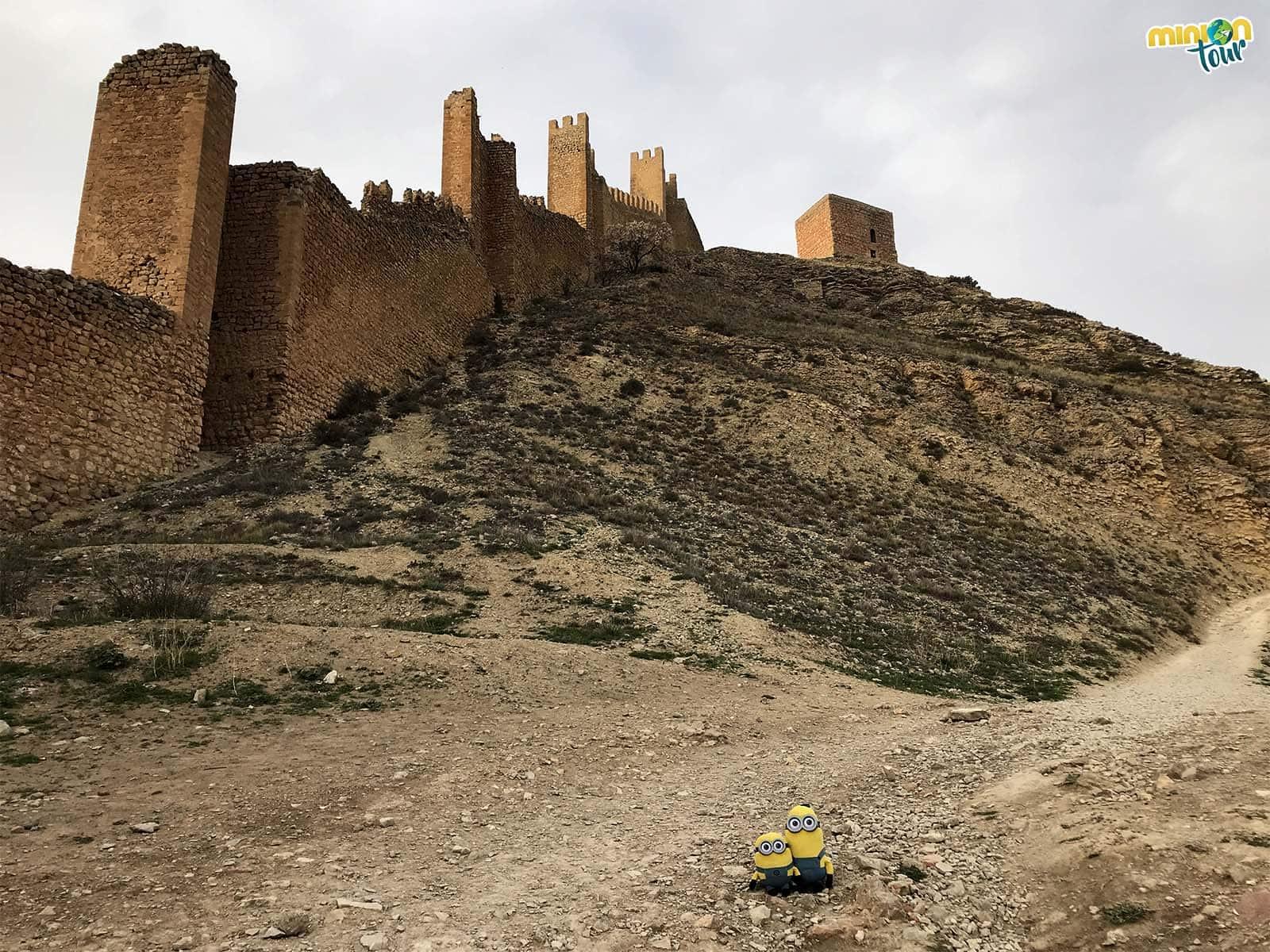Una de las murallas de Albarracín