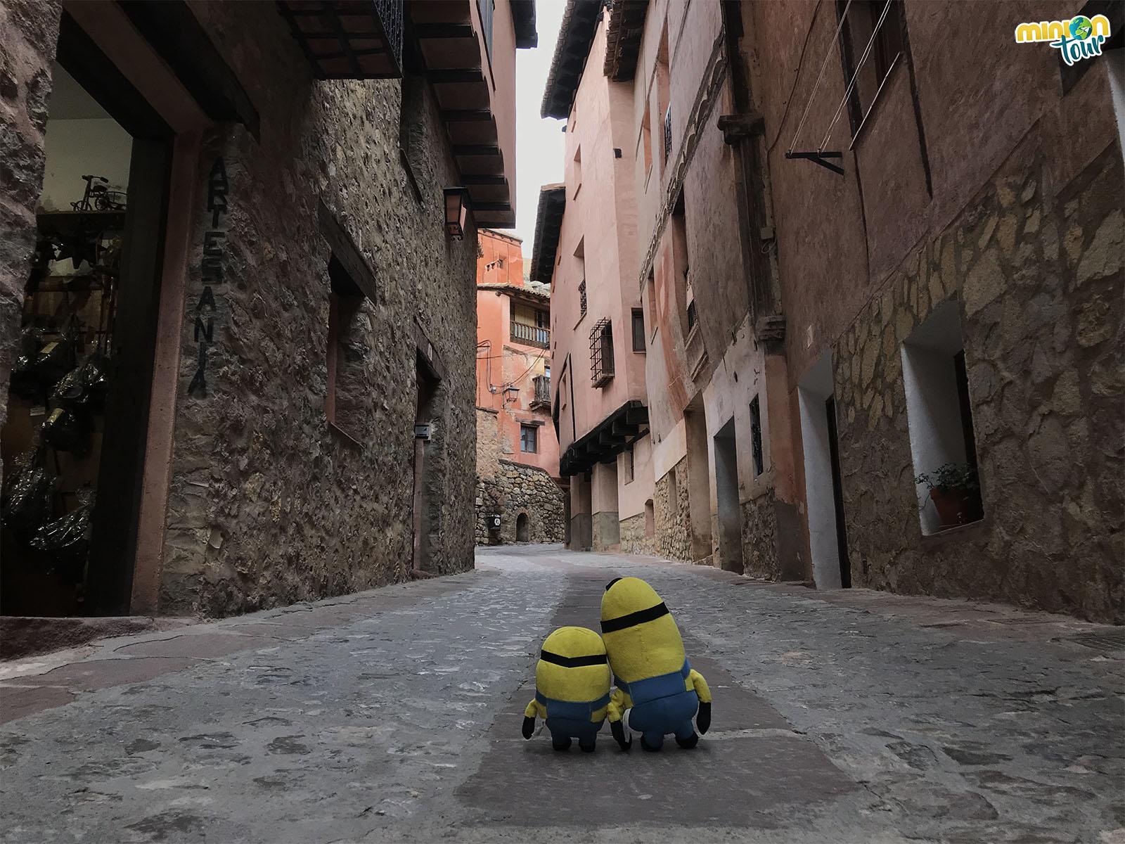 Una calle de Albarracín