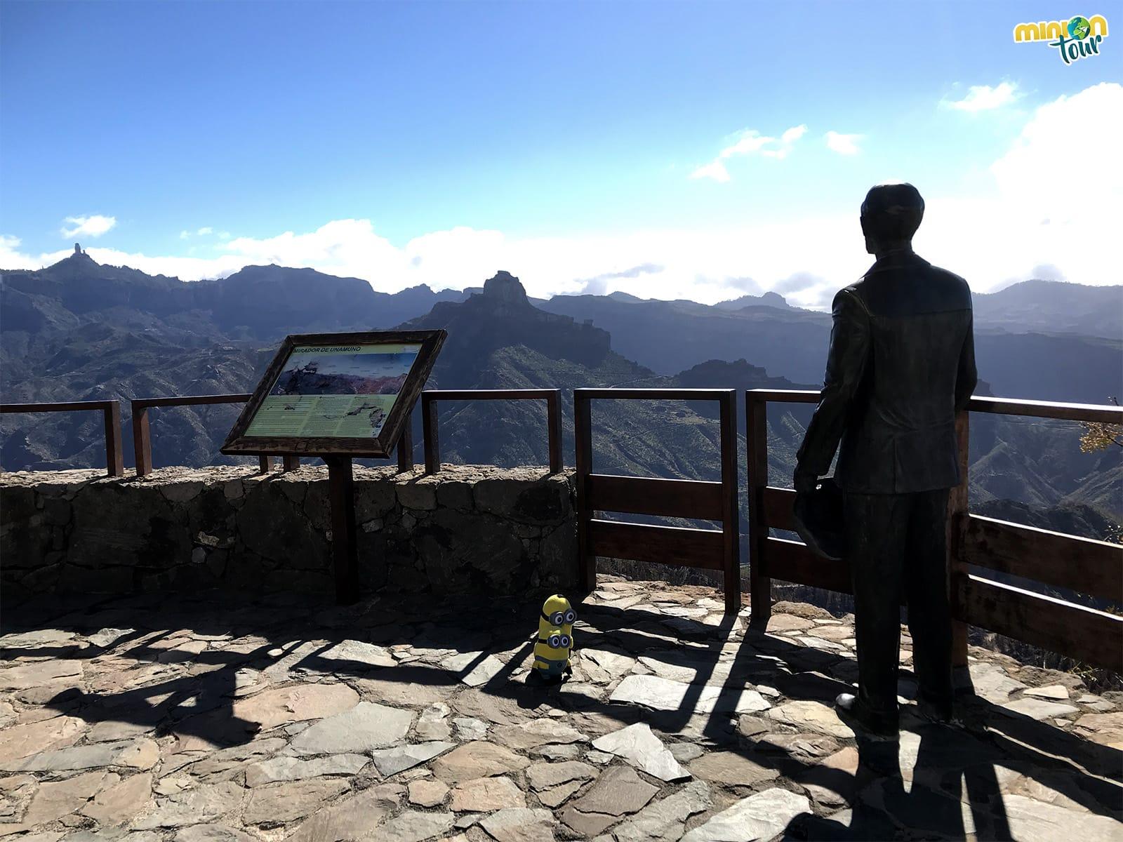 El Mirador de Unamuno es uno de los que tienes que ver en Artenara