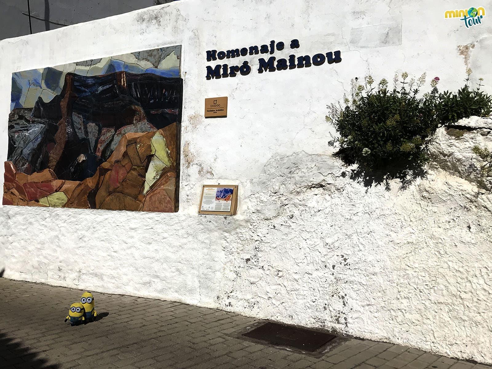 Homenaje a Miró Mainou en Artenara