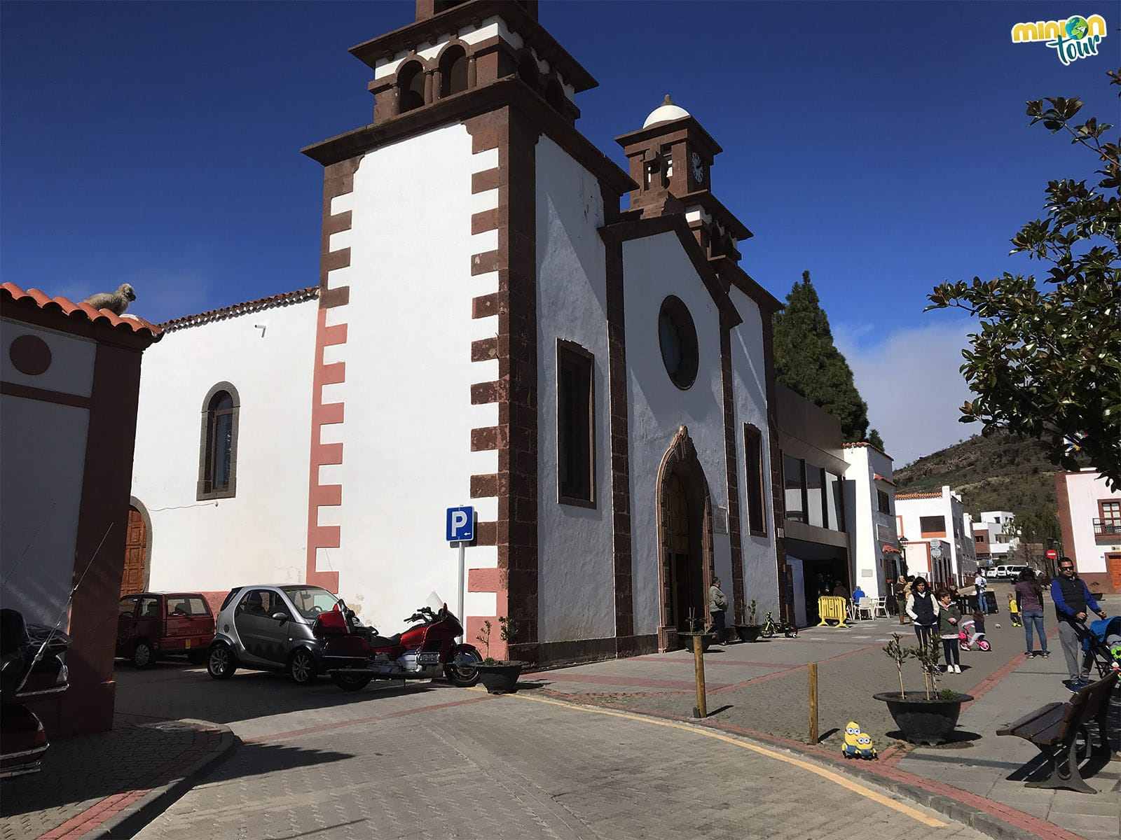 La Iglesia de San Matías en Artenara