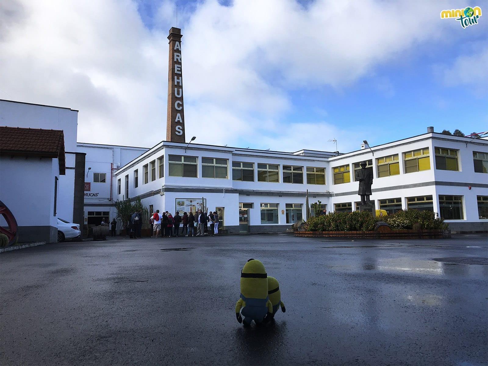 Fábrica de ron Arehucas
