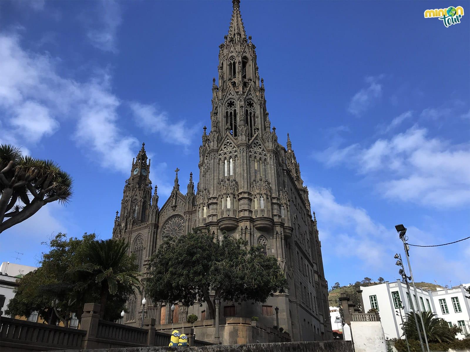 """La """"Catedral"""" de Arucas"""