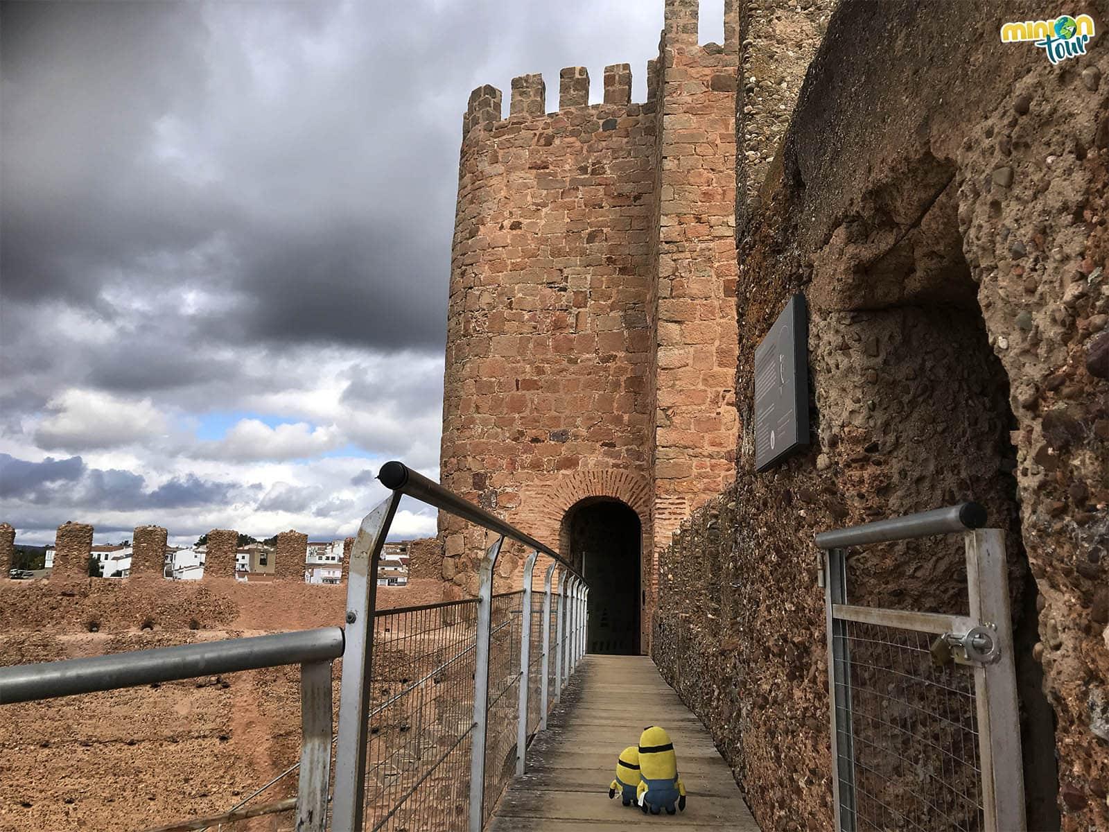 2 Minions vigilando el castillo