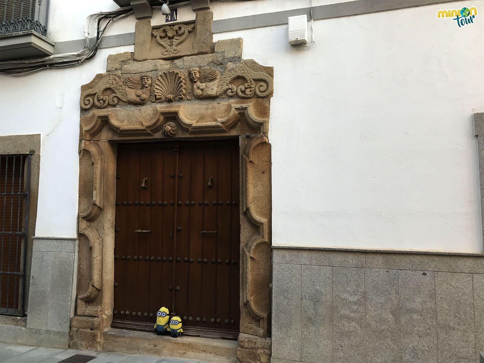 En Castuera nos encontramos con otra casa chula