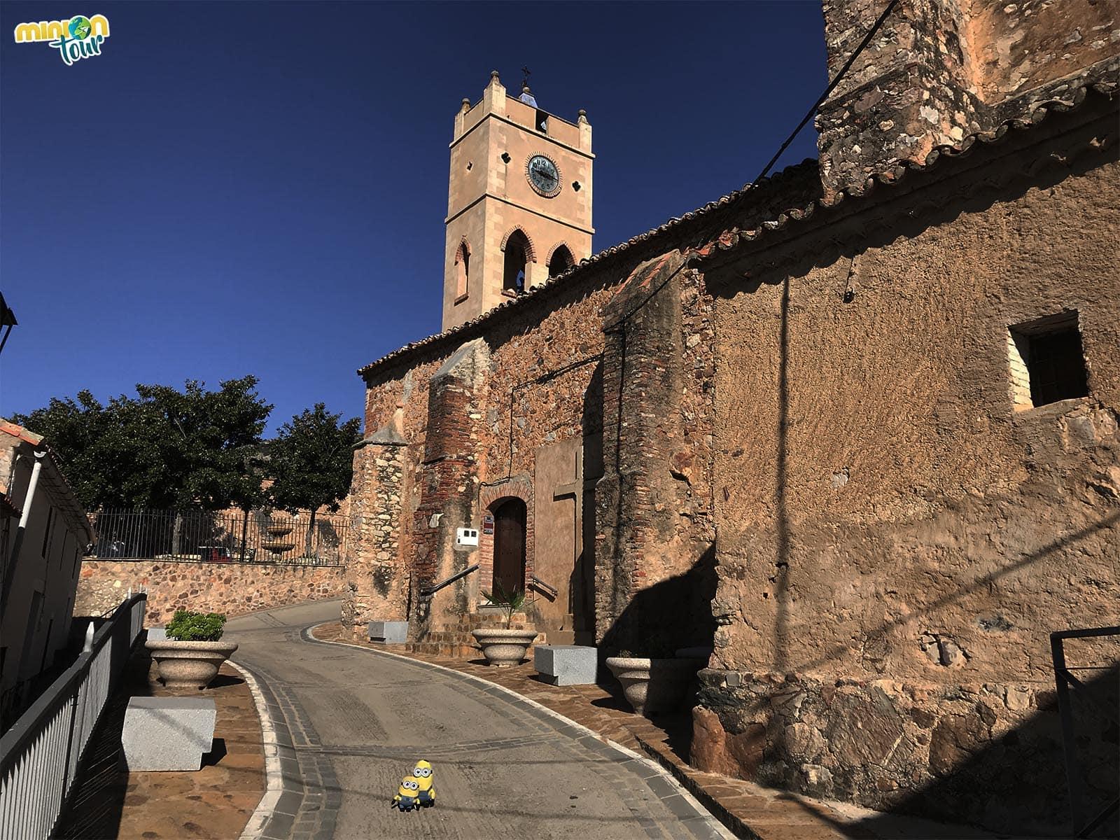 Iglesia del Espíritu Santo en Orellana de la Sierra