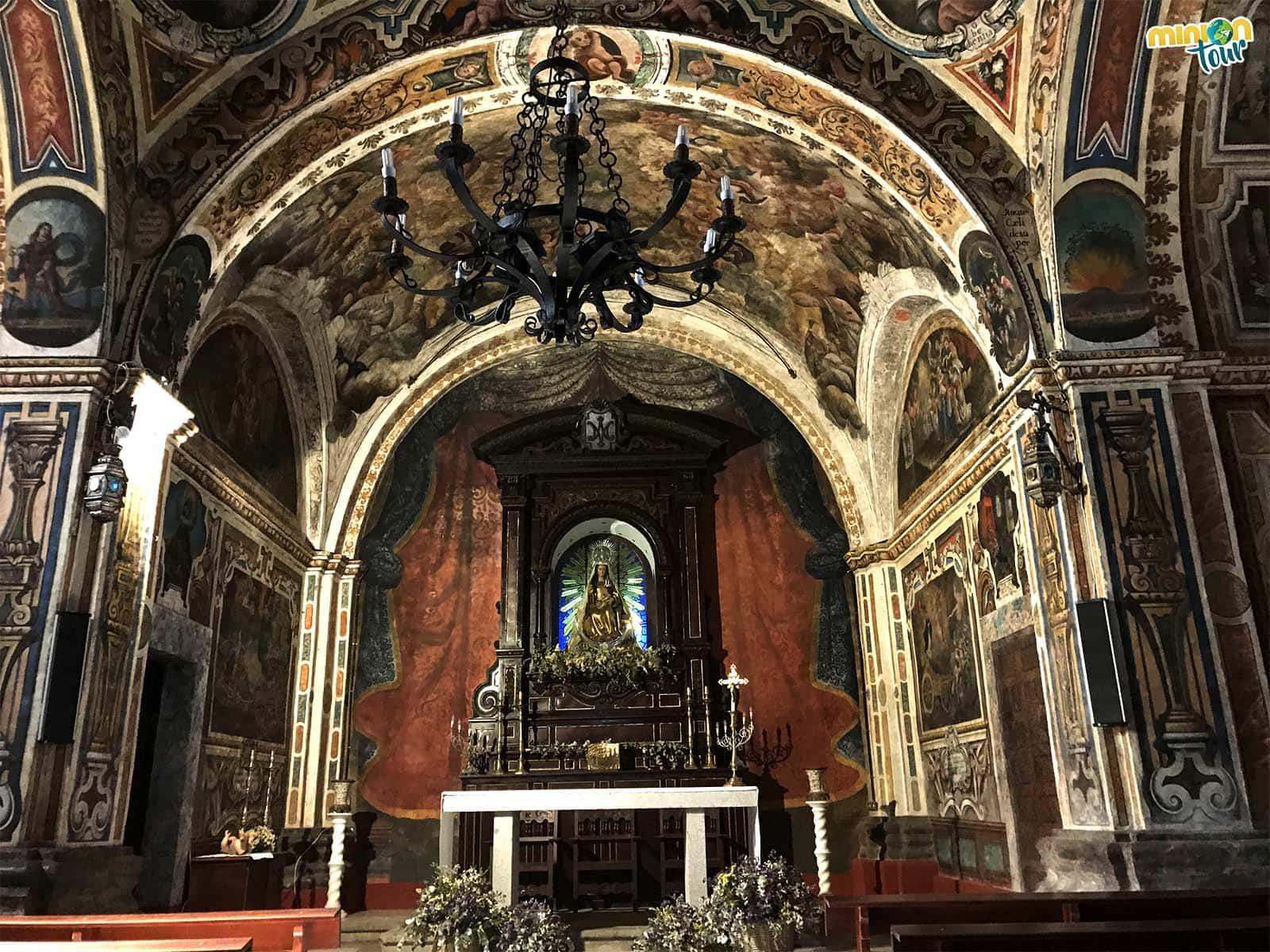 Las pinturas murales del Santuario de Nuestra Señora de Belén son una maravilla