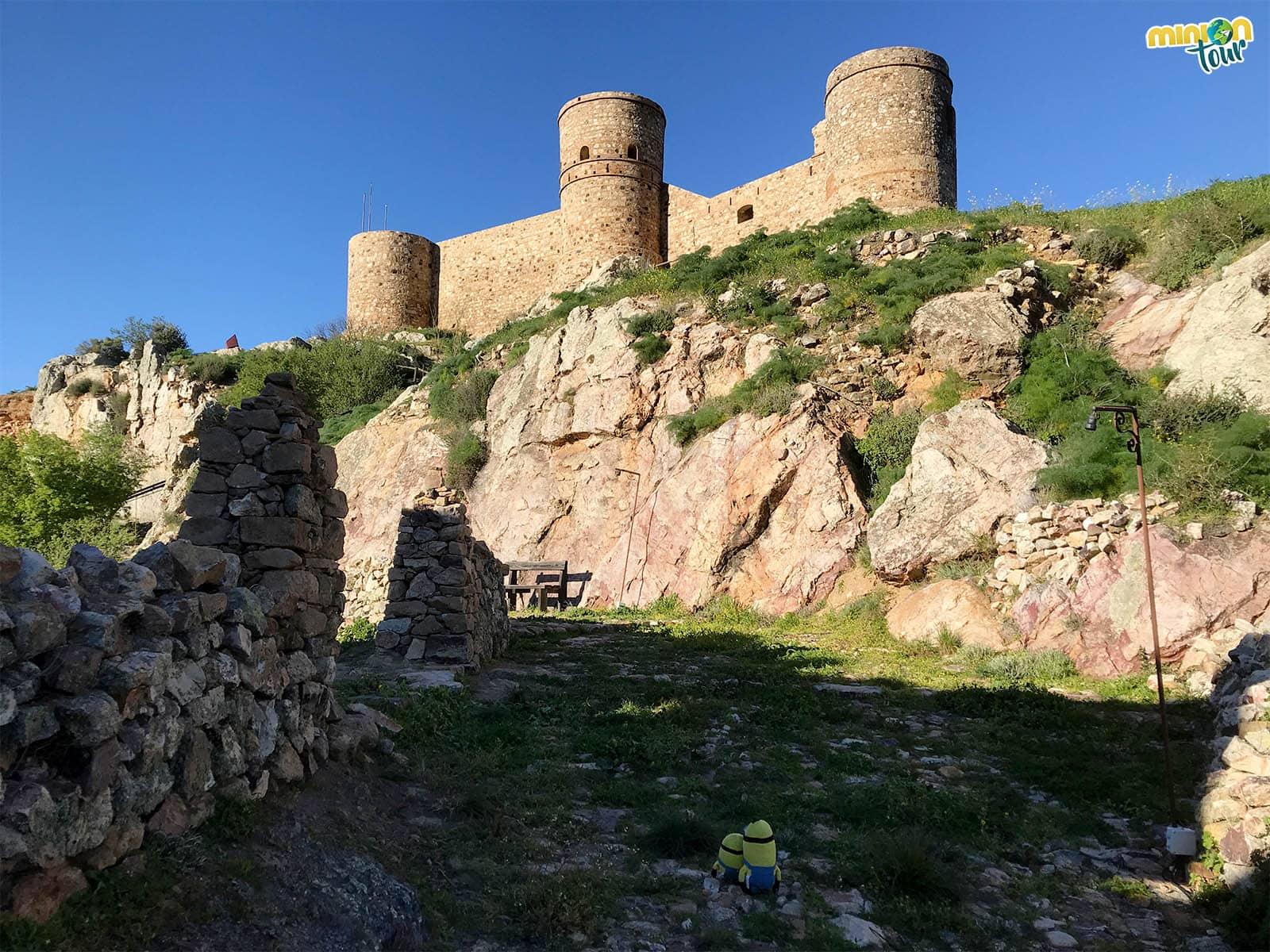 Subiendo a la cima del Castillo de Capilla