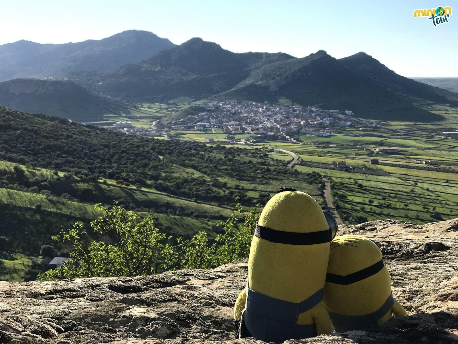 Las impresionantes vistas desde el Castillo de Capilla en la Comarca de La Serena