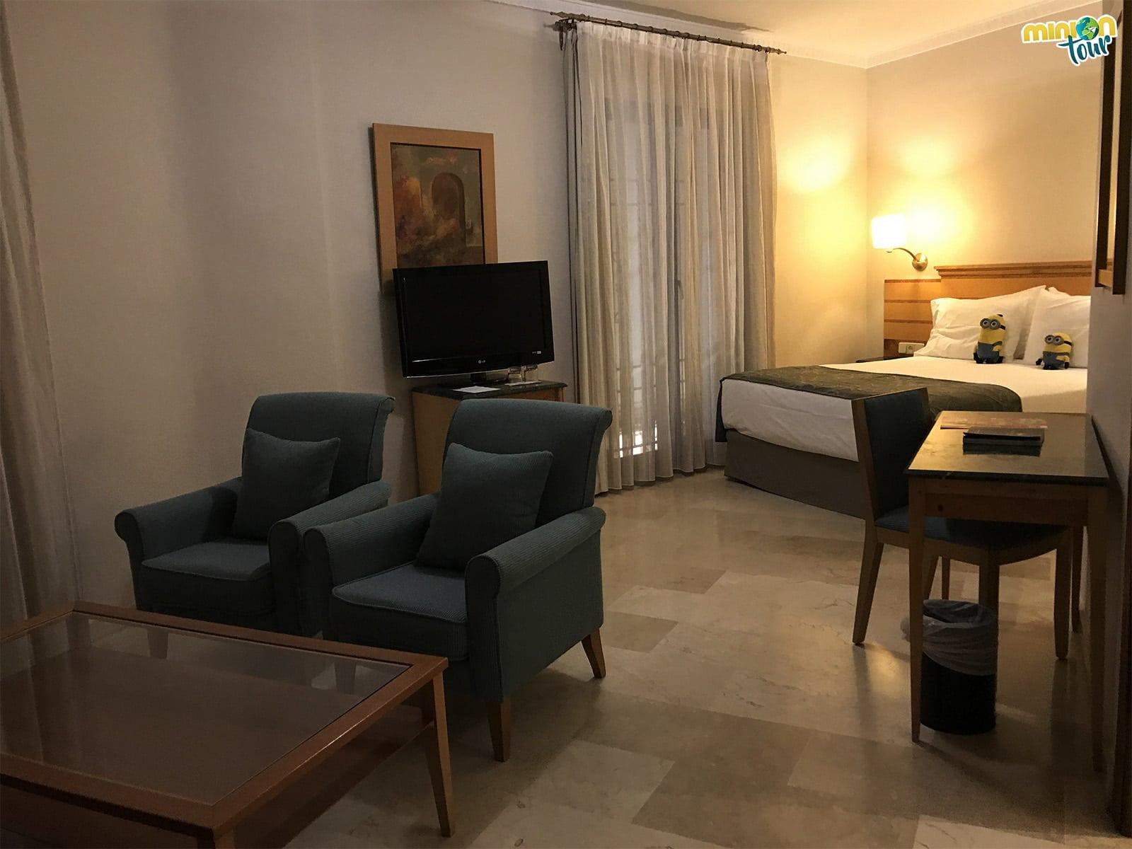 Nuestra habitación en el Hotel Eurostars Maimonides