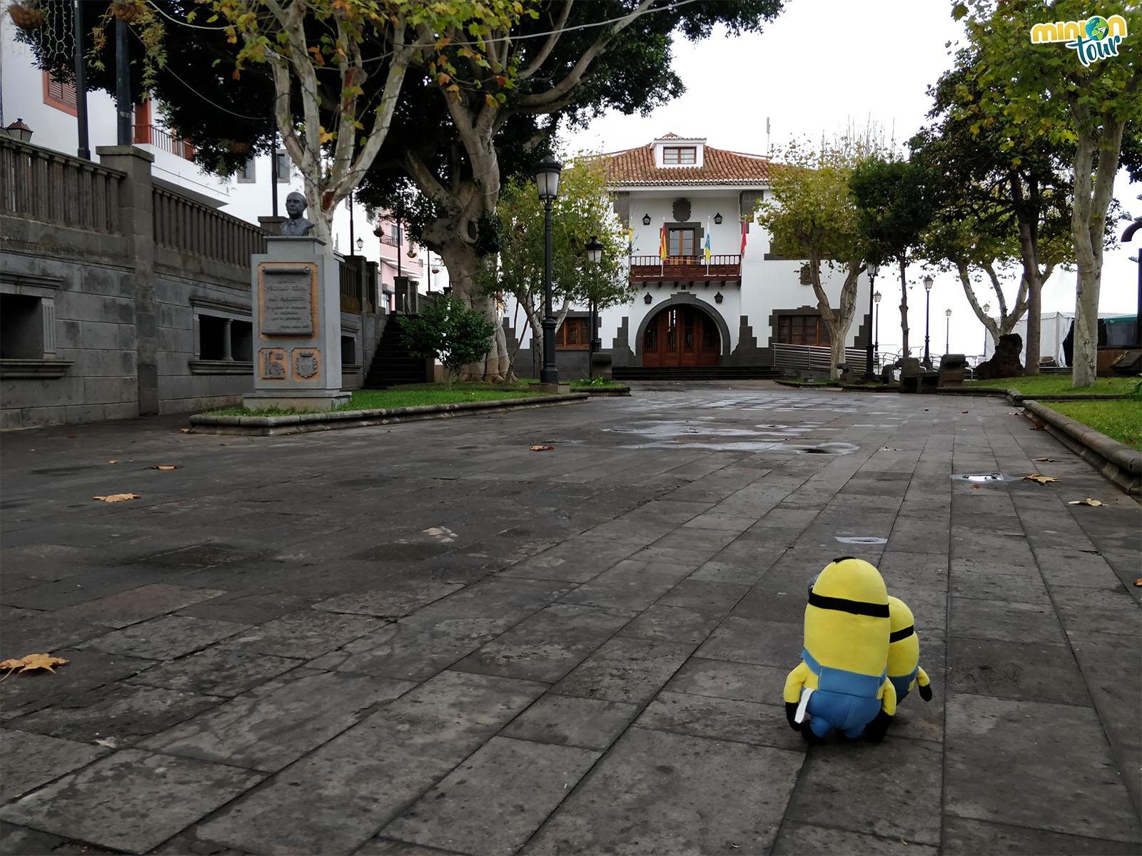 Plaza de San Roque en Firgas