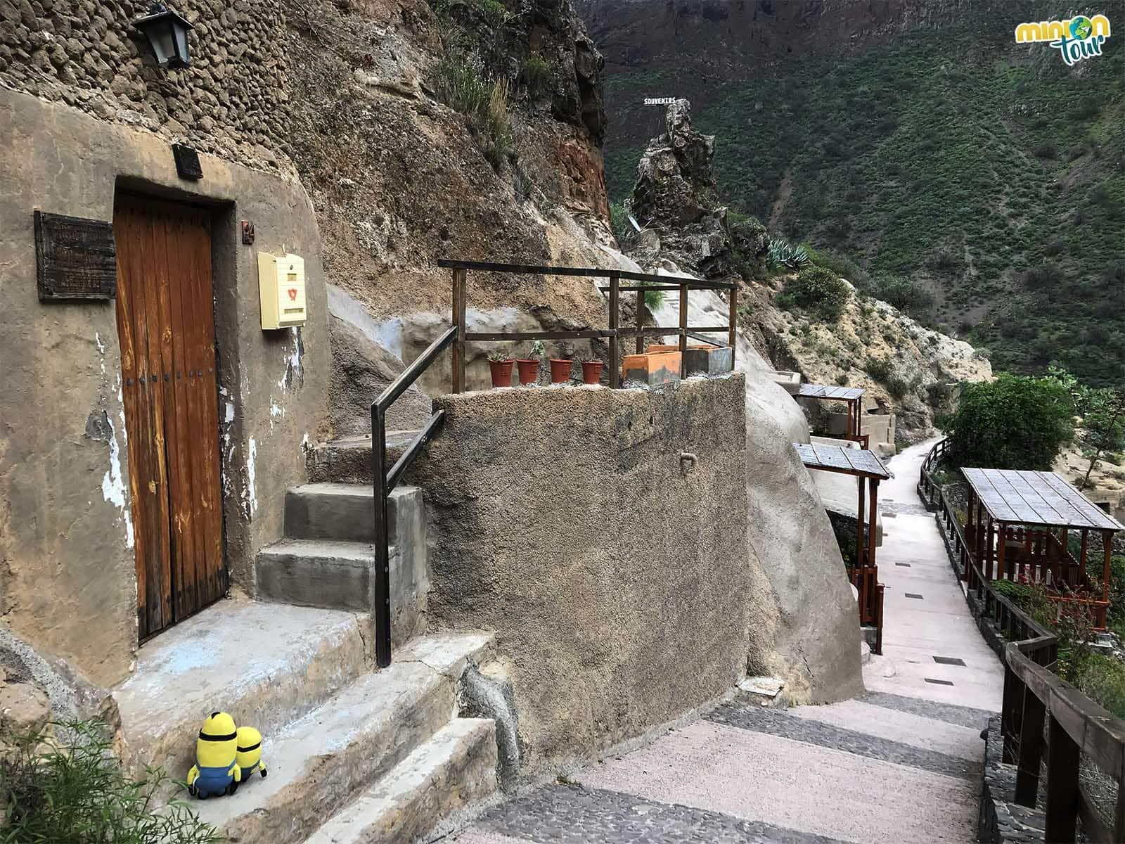 Casas cueva en el Barranco de Guayadeque