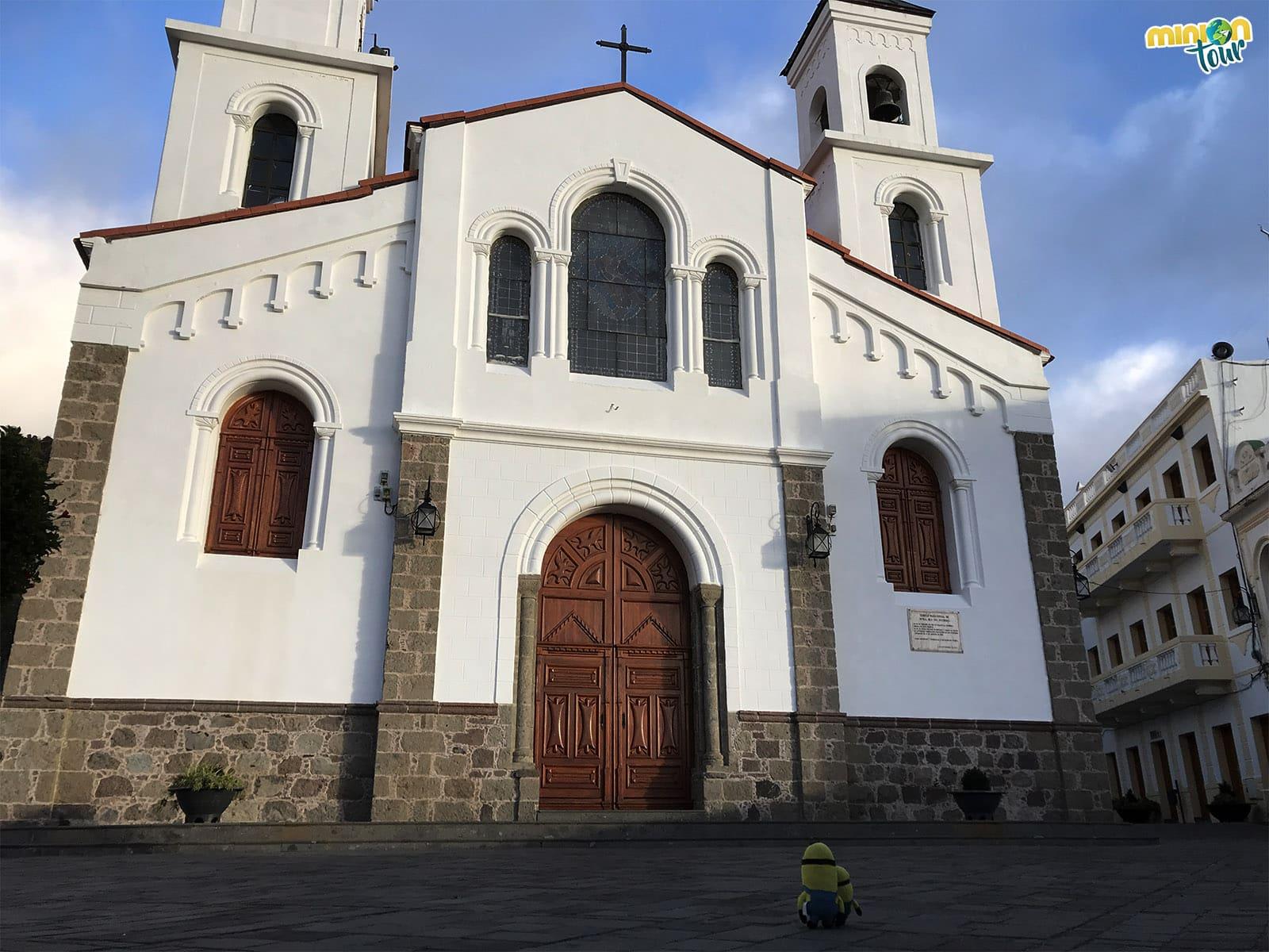 Qué ver en Tejeda: la Iglesia del Socorro
