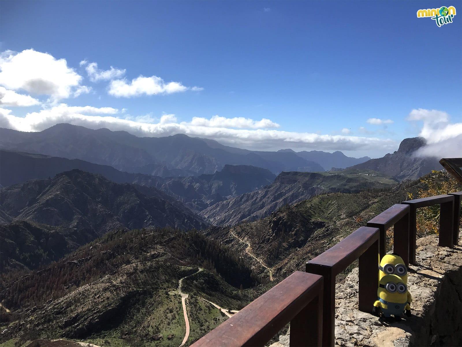Vistas desde Artenara
