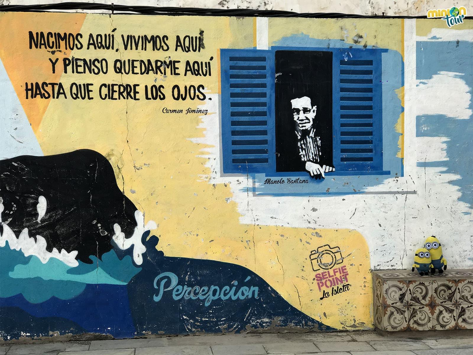 Mural en Las Palmas de Gran Canaria