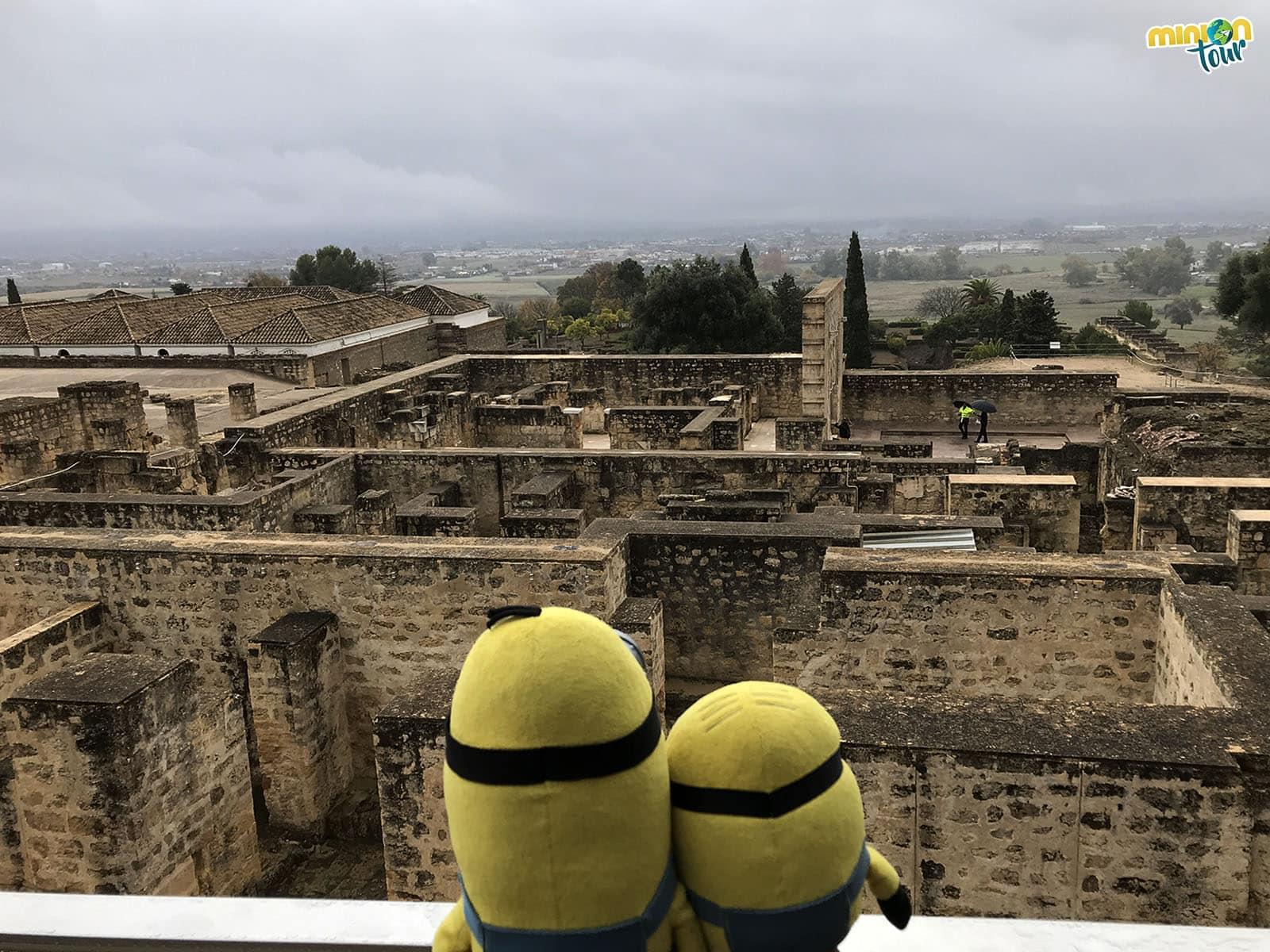 Observando lo que nos espera en Medina Azahara