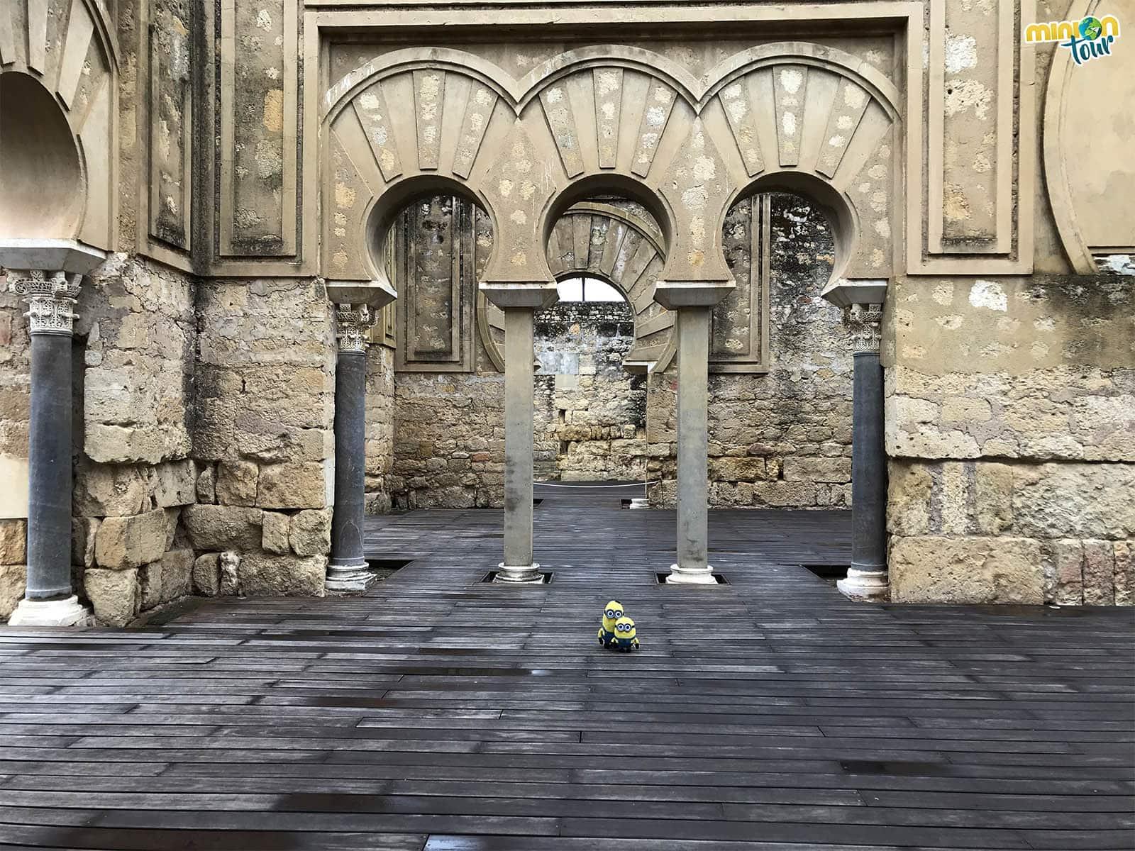 Detalle de uno de los rincones de Medina Azahara
