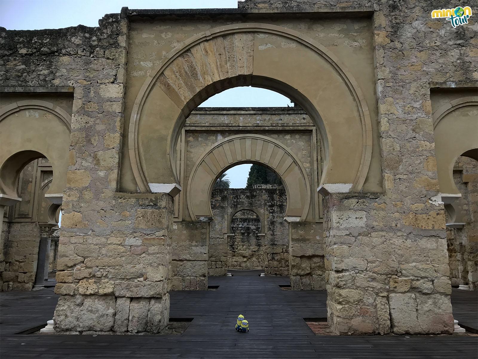 Arcos en Medina Azahara