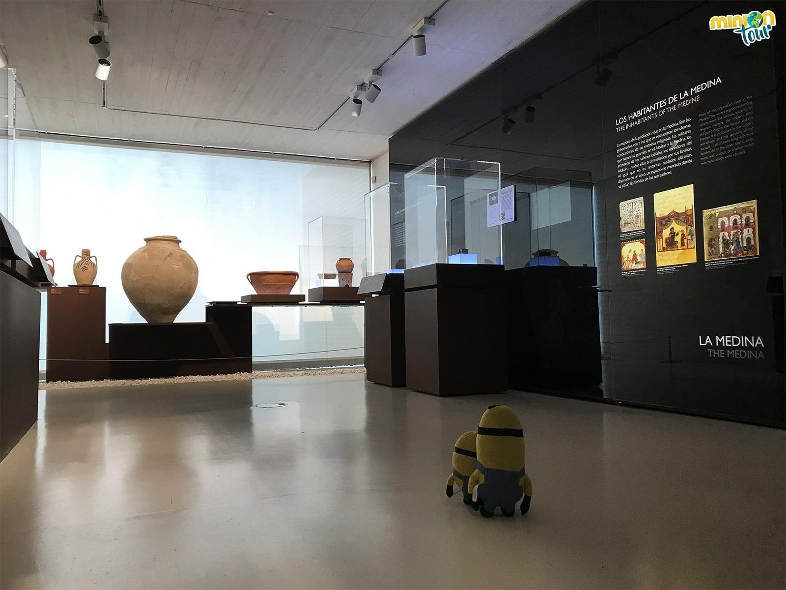 Una de las salas del Museo de Medina Azahara