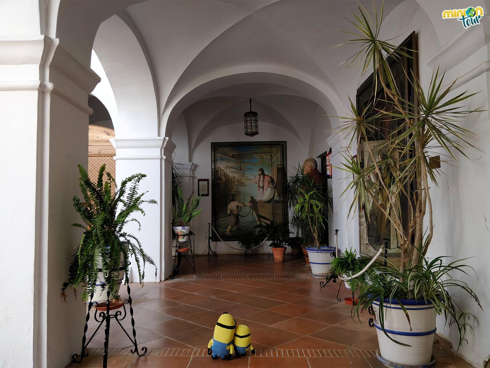 El Claustro de la Hospedería del Monasterio de La Rábida