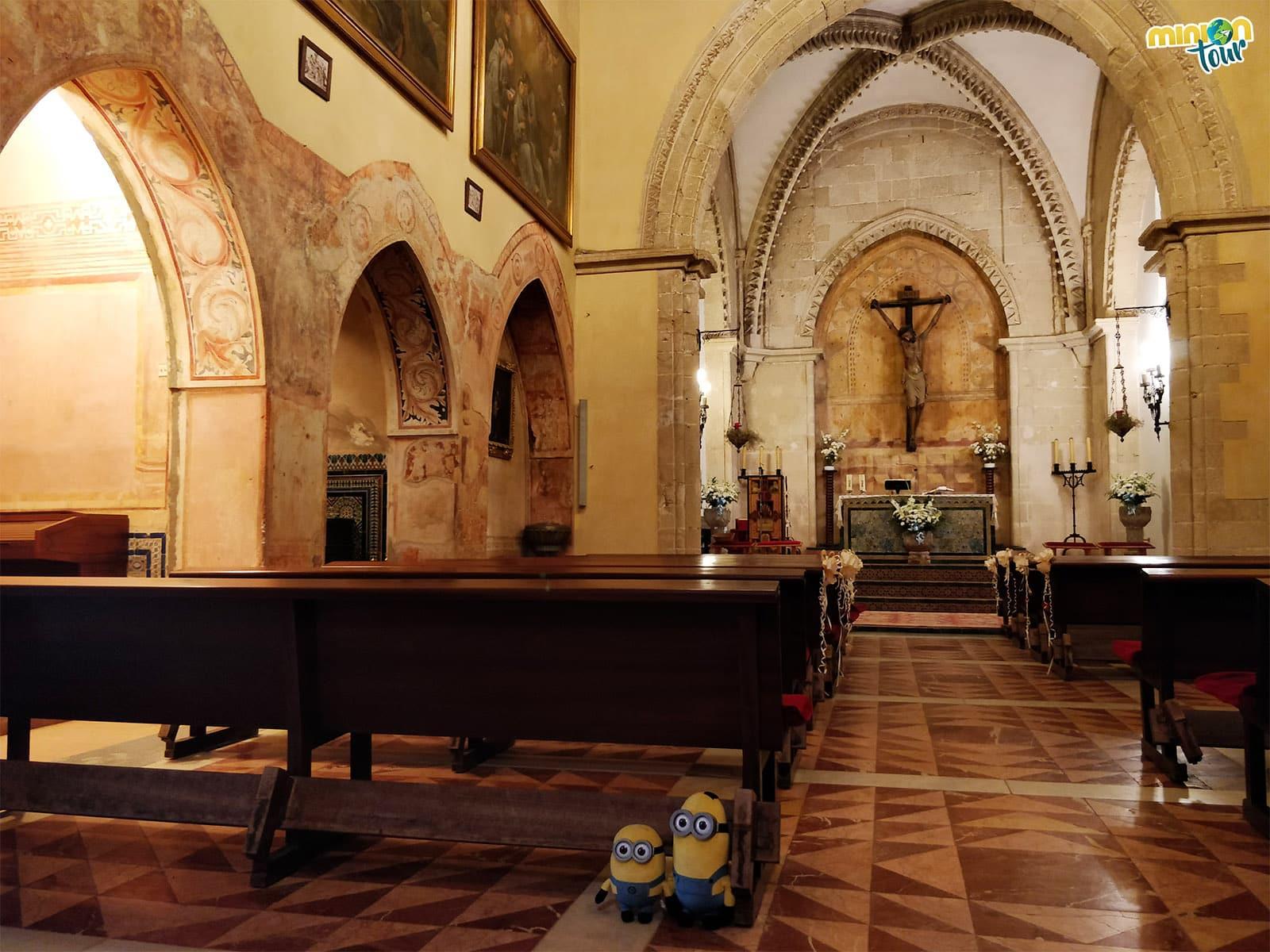 La iglesia del Monasterio de La Rábida