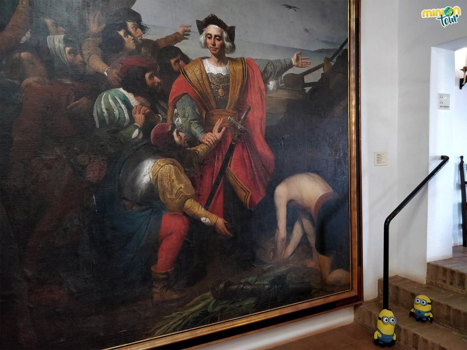 Hemos encontrado a Cristóbal Colón en el Monasterio de La Rábida