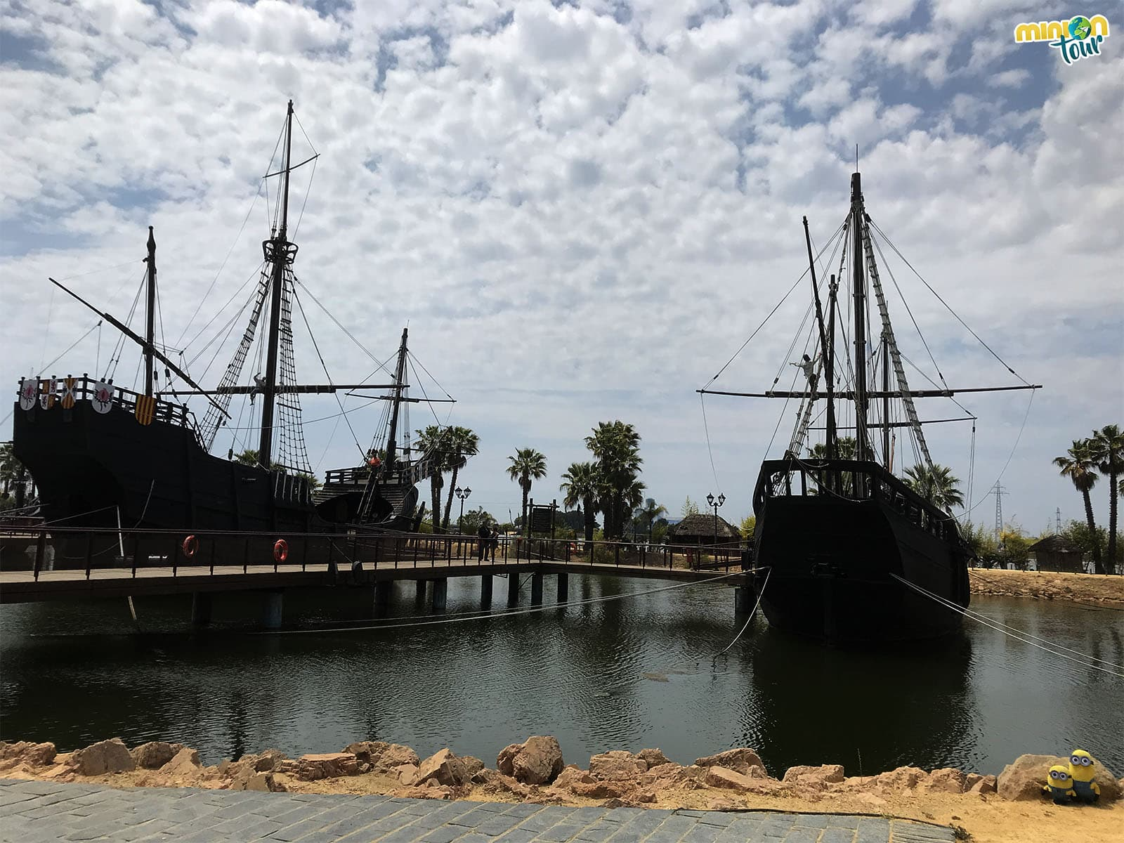 Panorámica del Muelle de las Carabelas