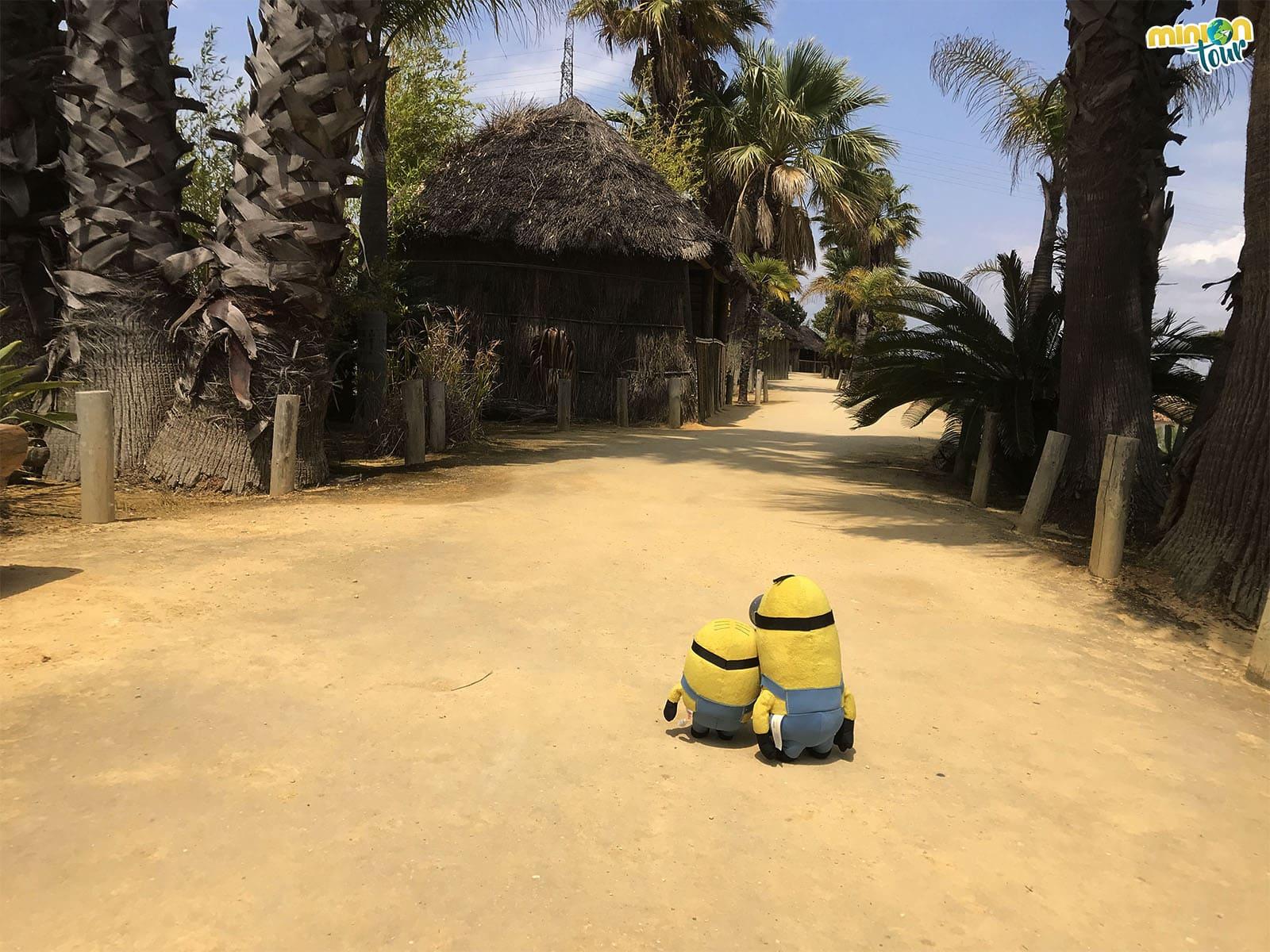 Cabañas en la Isla del Encuentro