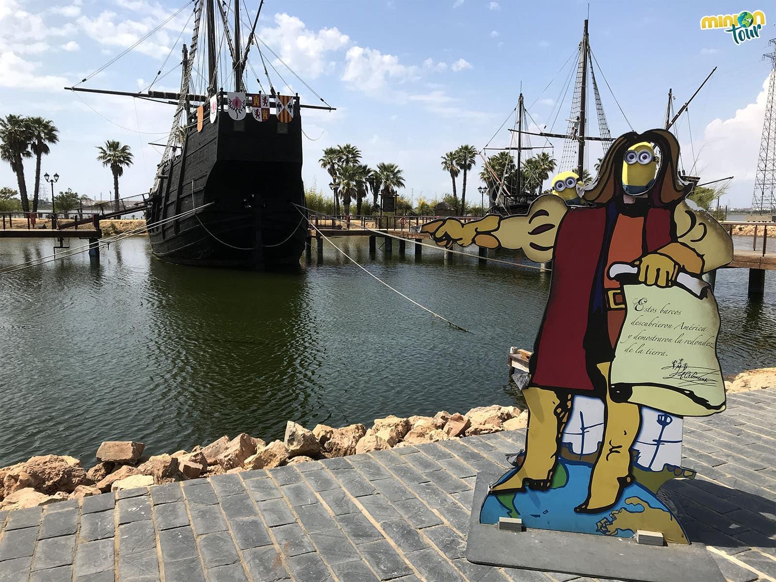 Haciendo de Cristóbal Colón