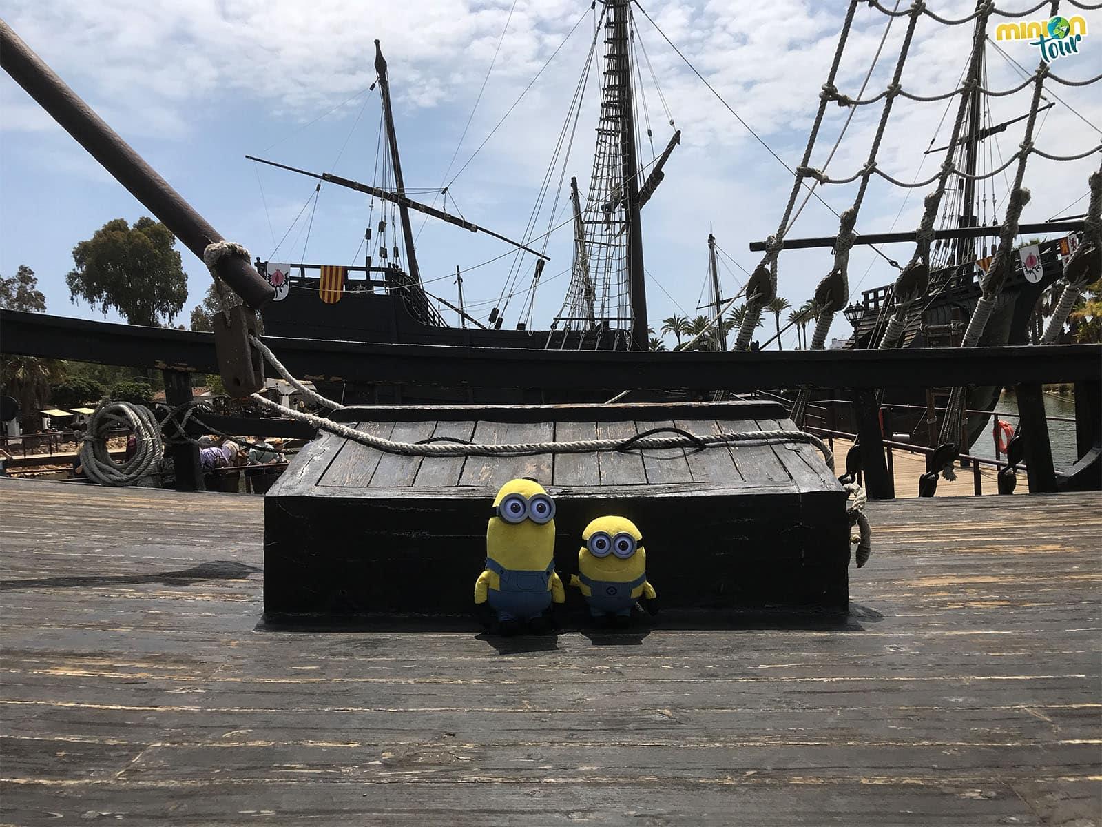 Nos vamos a descubrir América desde el Muelle de las Carabelas
