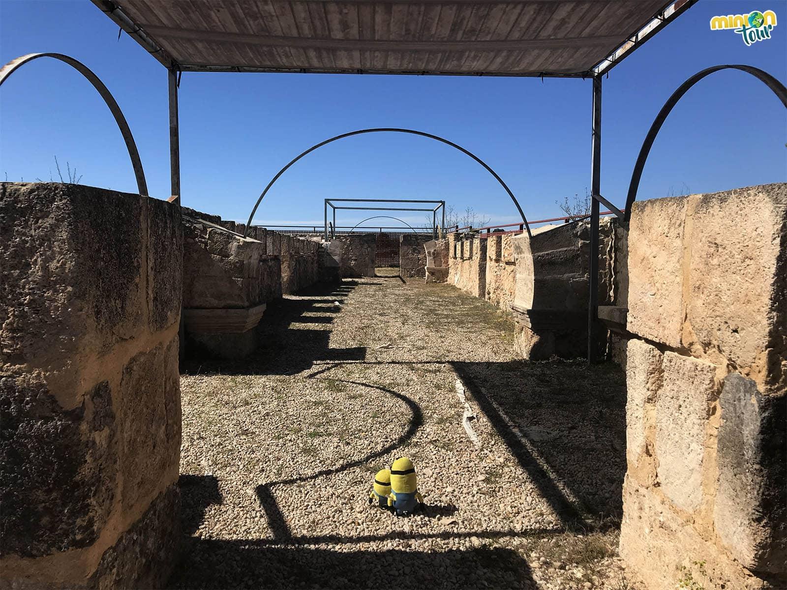 Vista del Yacimiento Arqueológico de Pla de Nadal