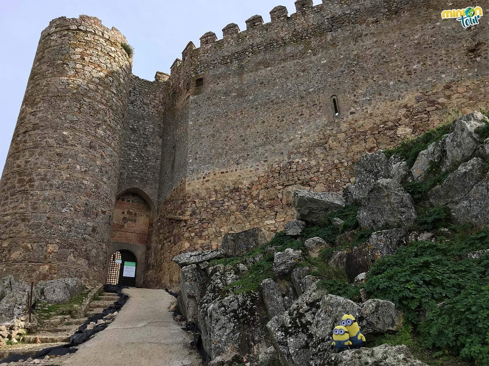 El castillo, una de las cosas que ver en Puebla de Alcocer