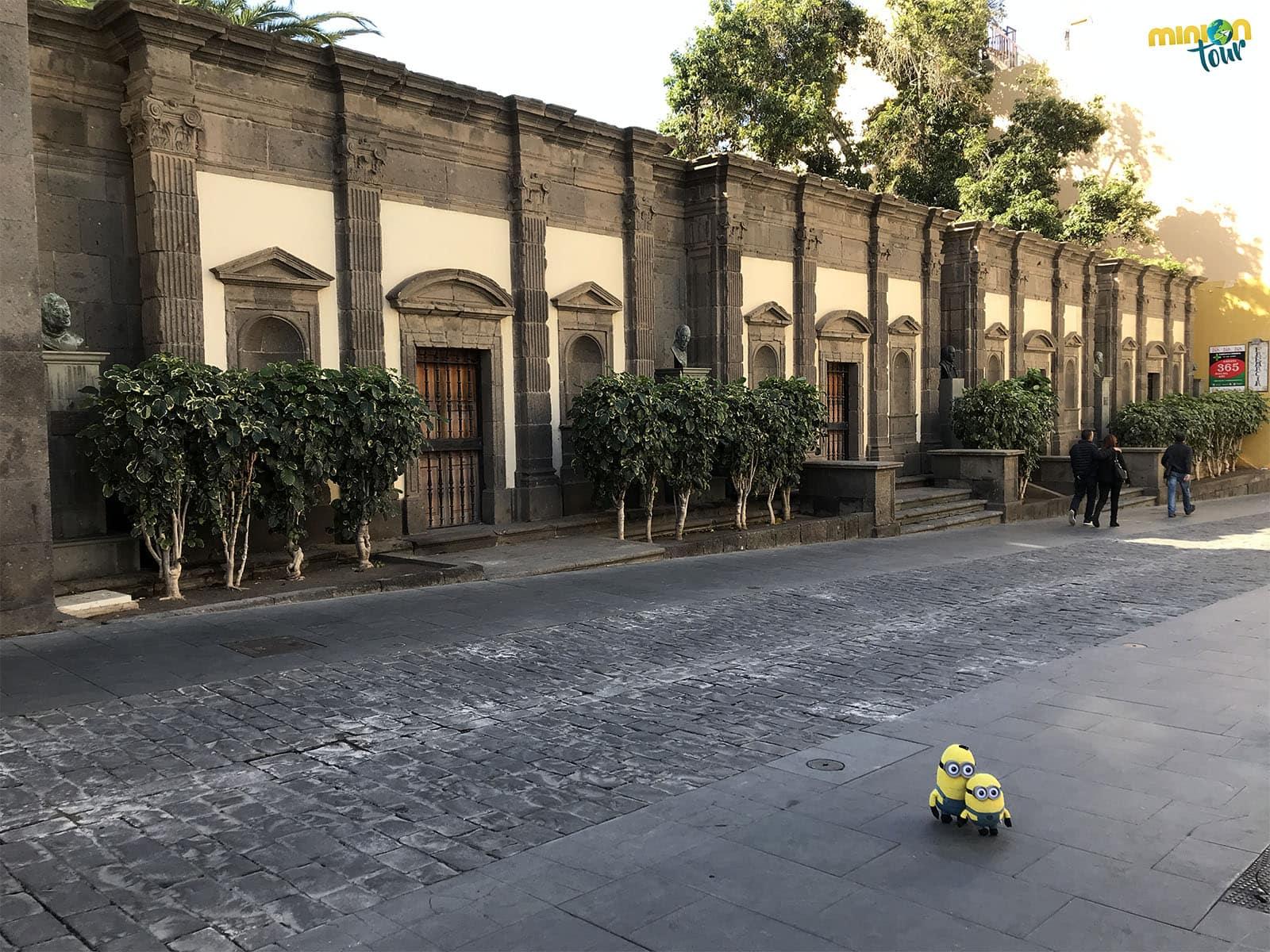 2 Minions en el Palacio Episcopal de Las Palmas